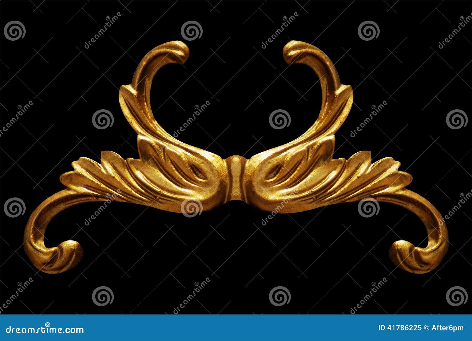 装饰品元素,葡萄酒金子花卉设计
