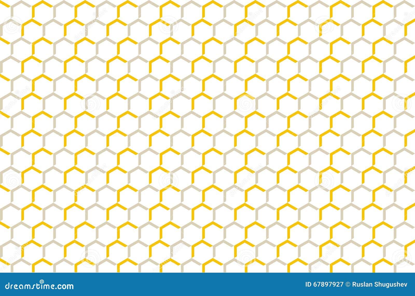装饰品蜂蜜,装饰的网格图形