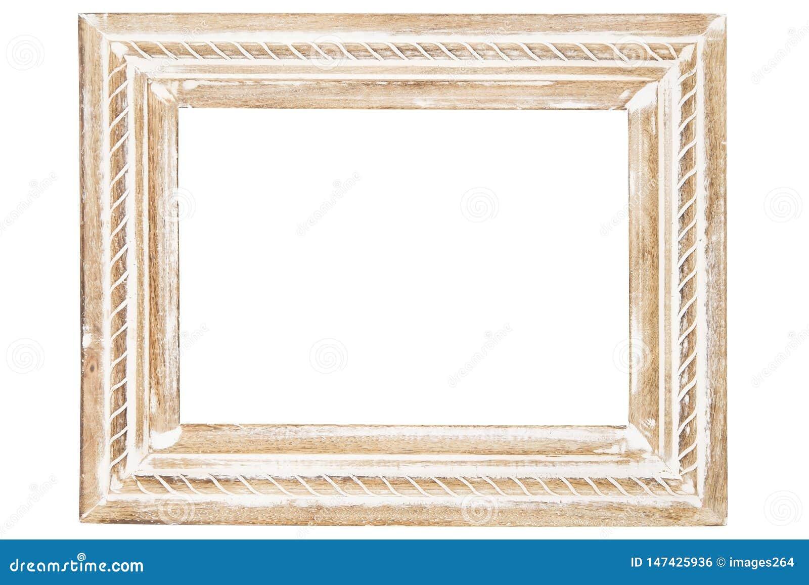 装饰木制框架