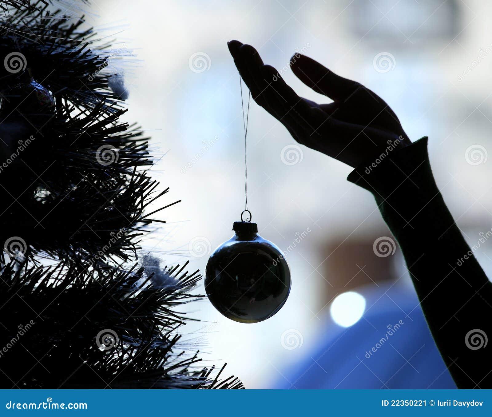 装饰现有量结构树的圣诞节