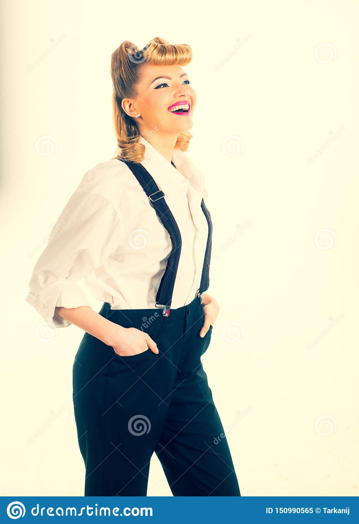 裤子的少女 r 2 business woman