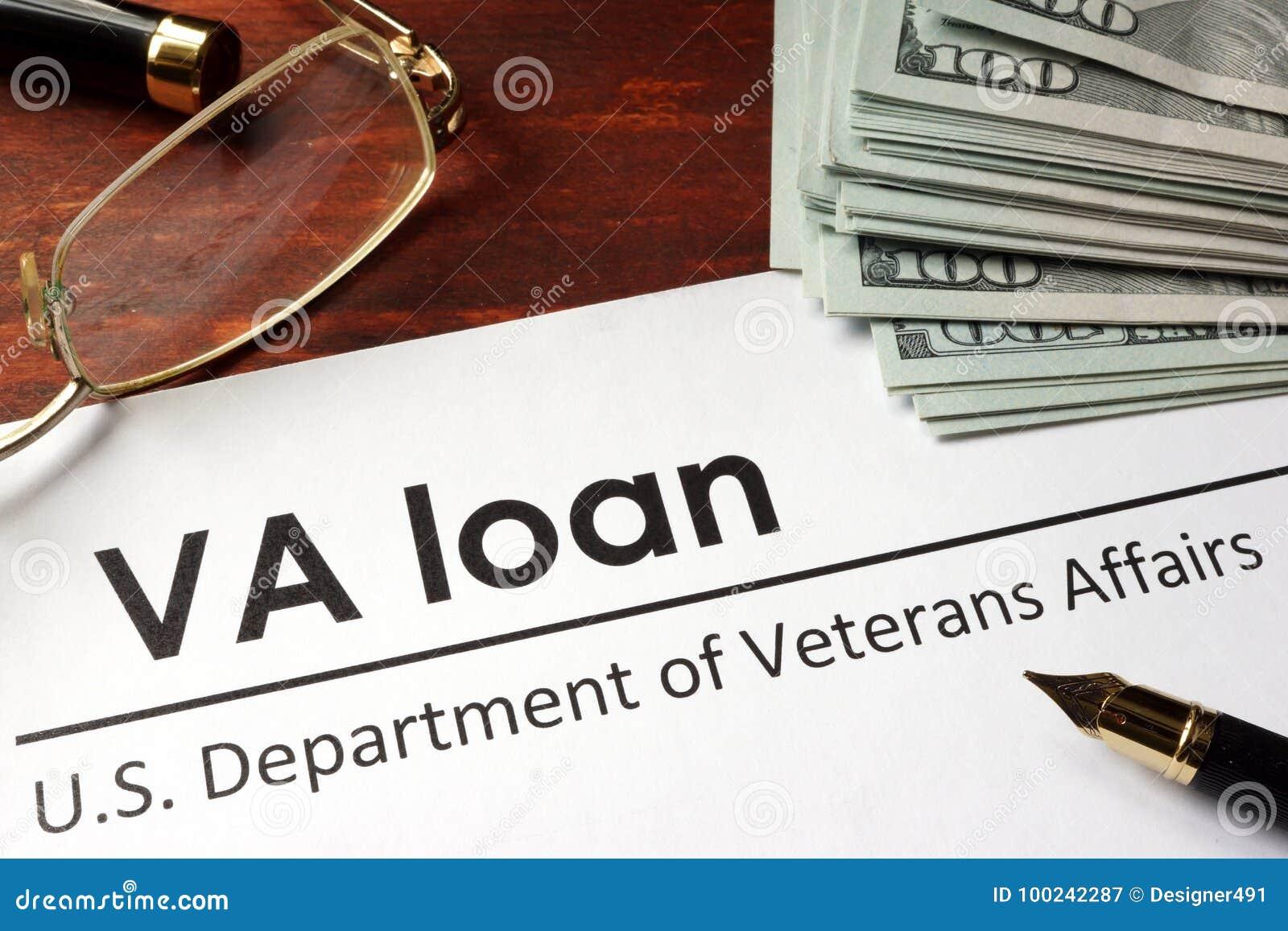 裱糊与词VA贷款