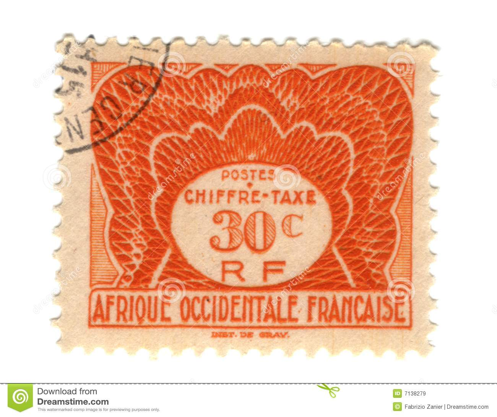 西方非洲法国老的印花税