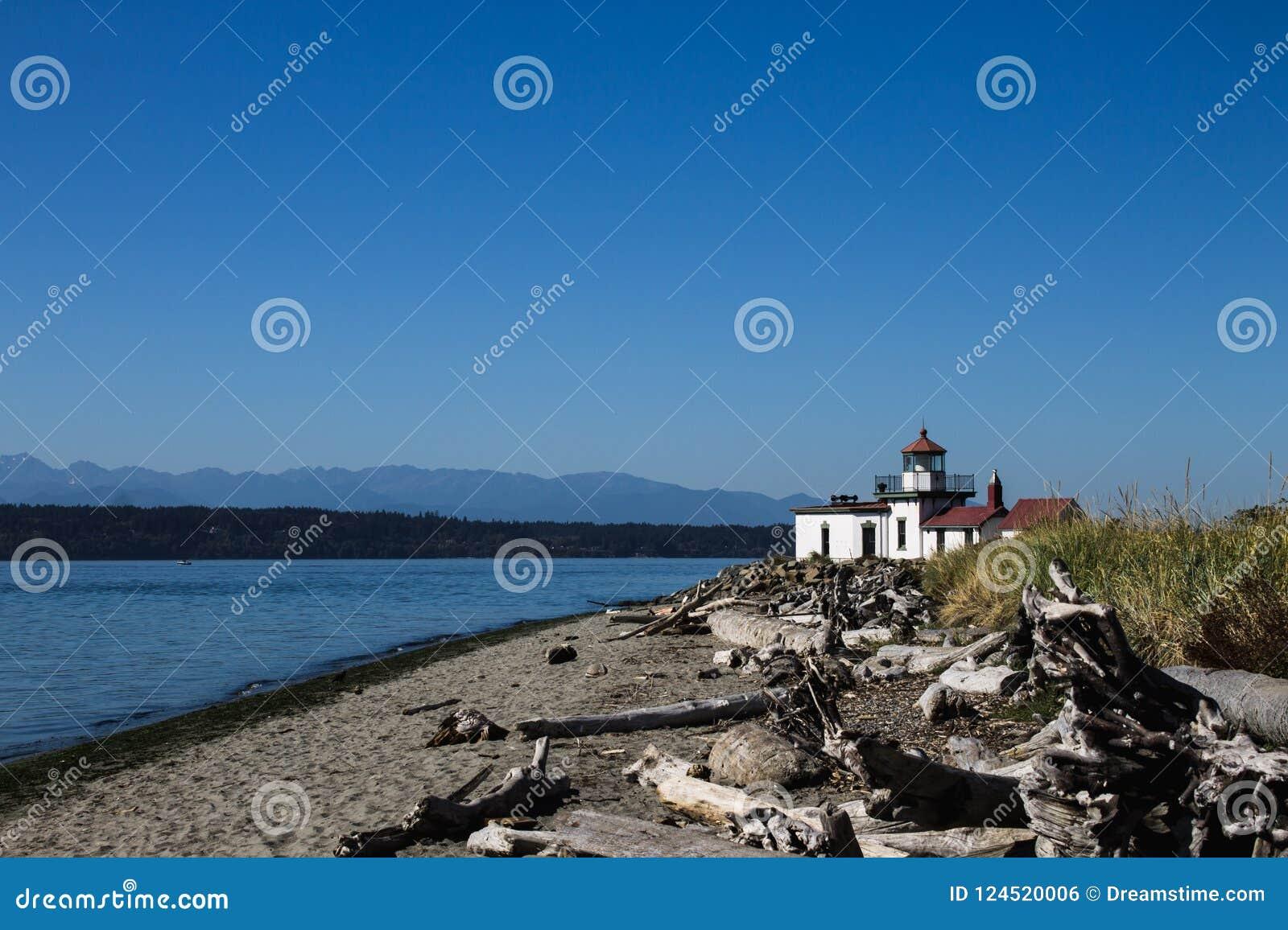 西点军校灯塔海滩