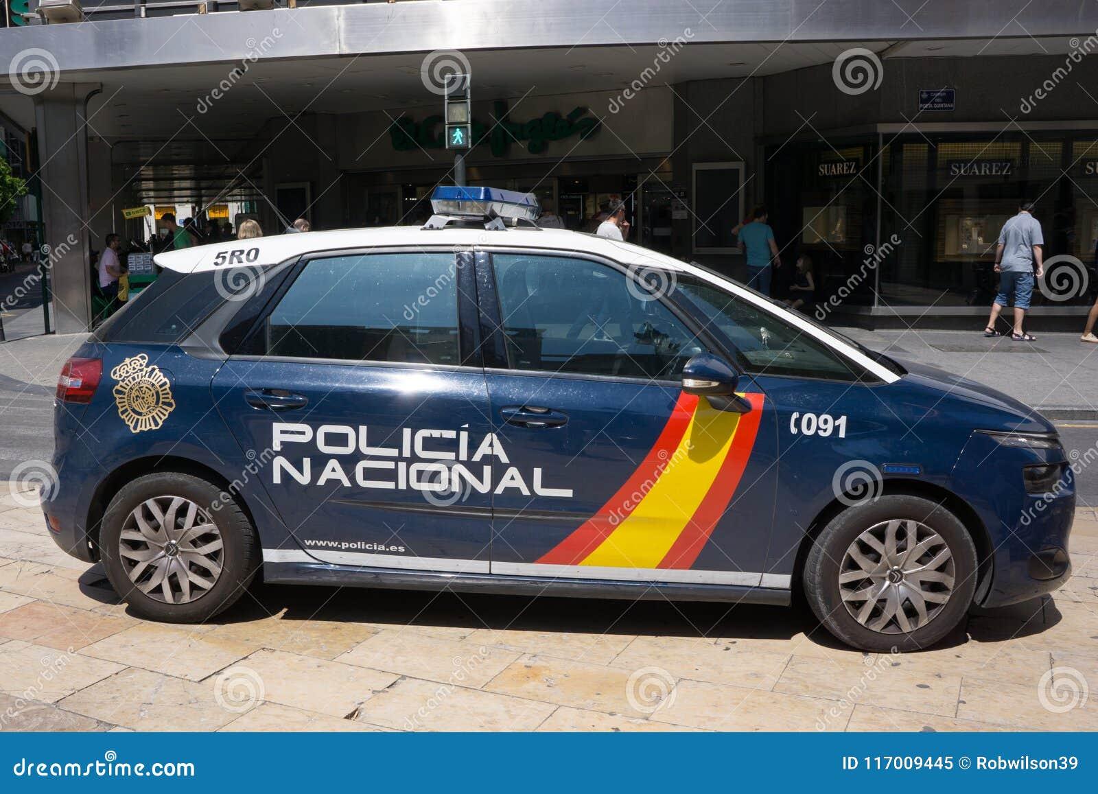 西班牙国家警察汽车公开