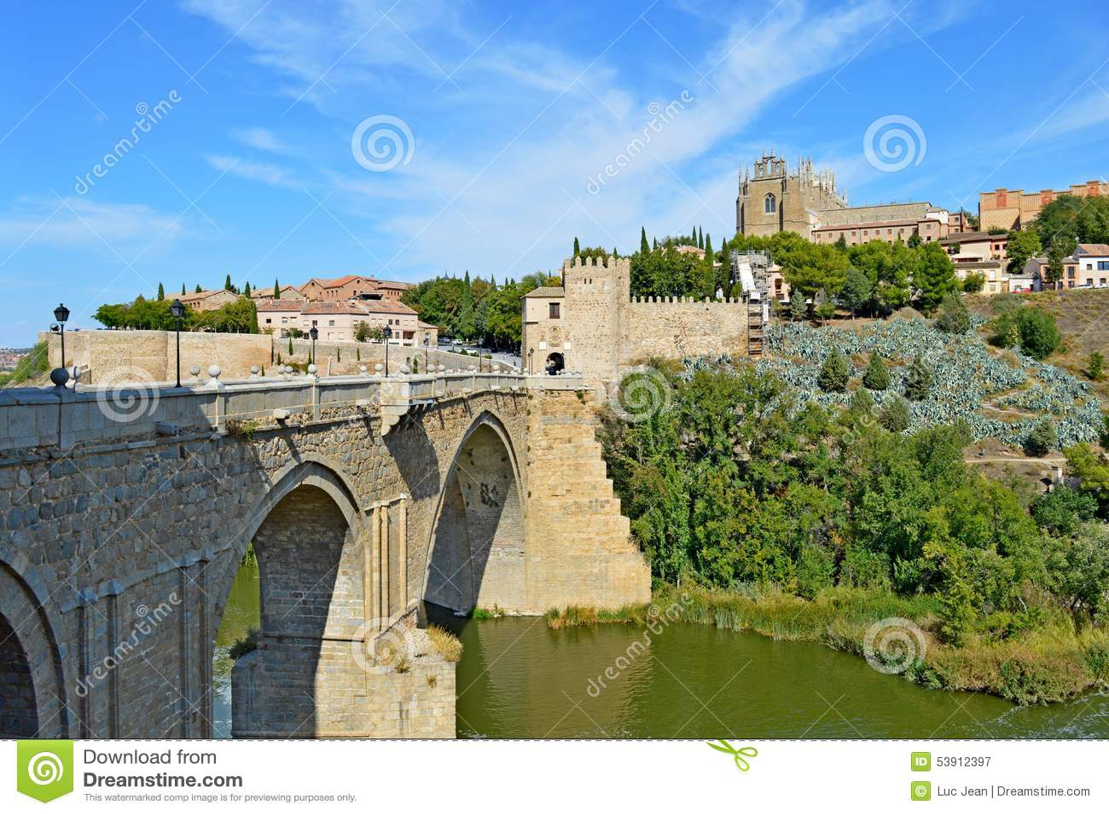 西班牙托莱多桥梁(1)