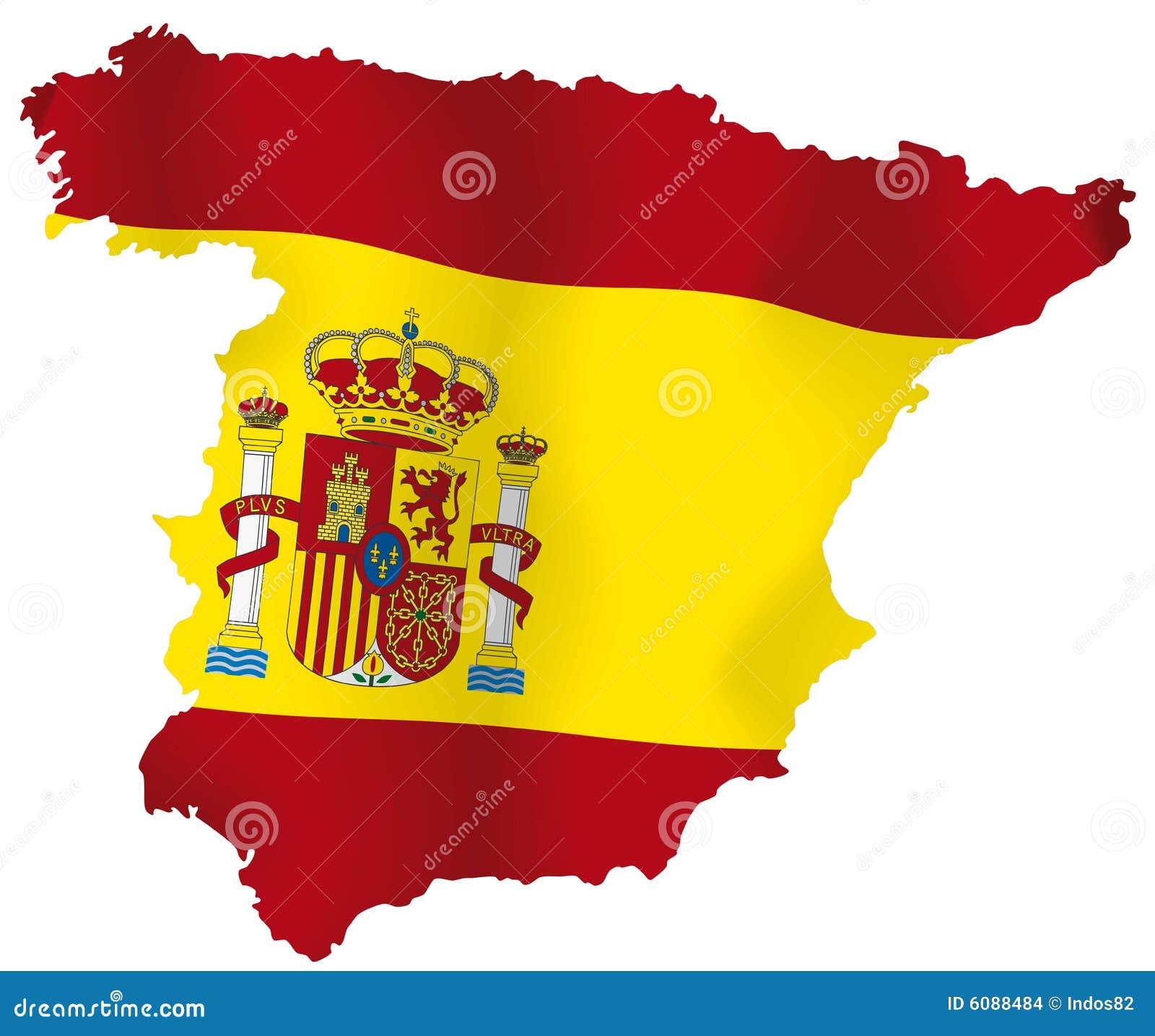 西班牙的向量映射