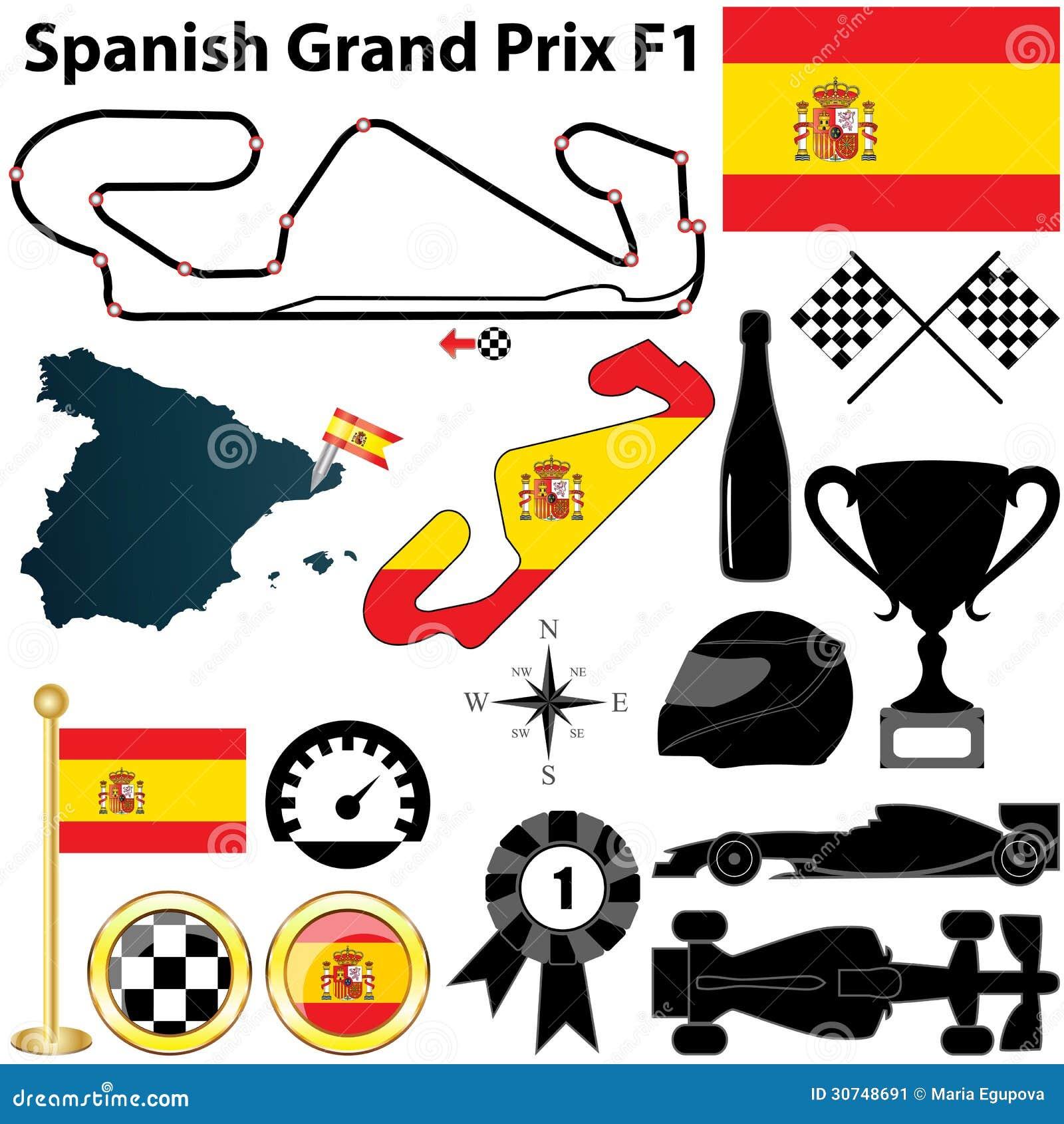 西班牙语格兰披治F1