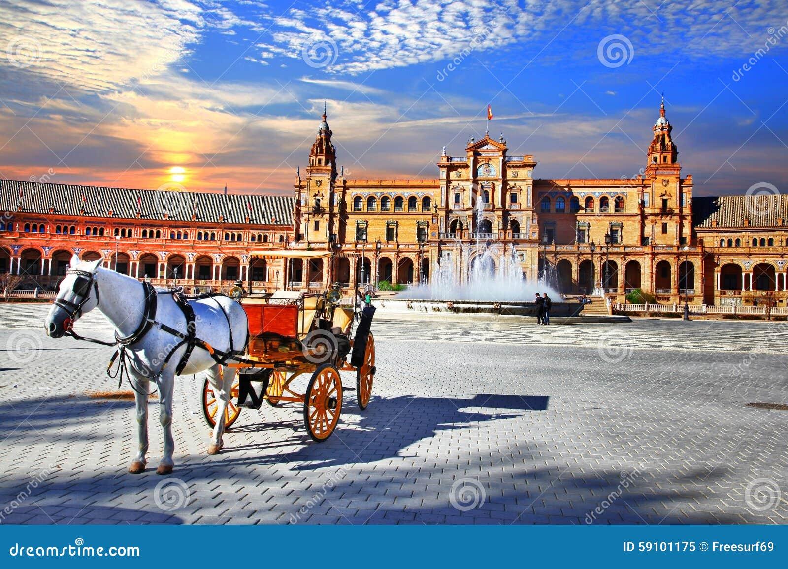 西班牙-塞维利亚,安大路西亚地标