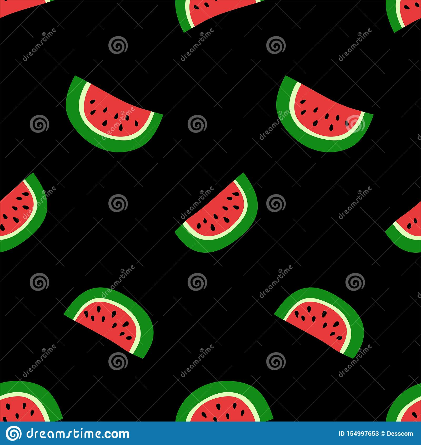 西瓜无缝的样式 r 甜异乎寻常的热带水果 时尚设计 礼服的食物印刷品 r