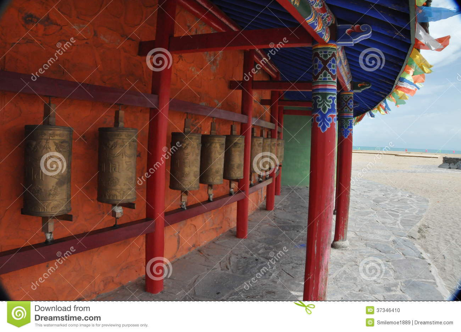 西藏转动桶