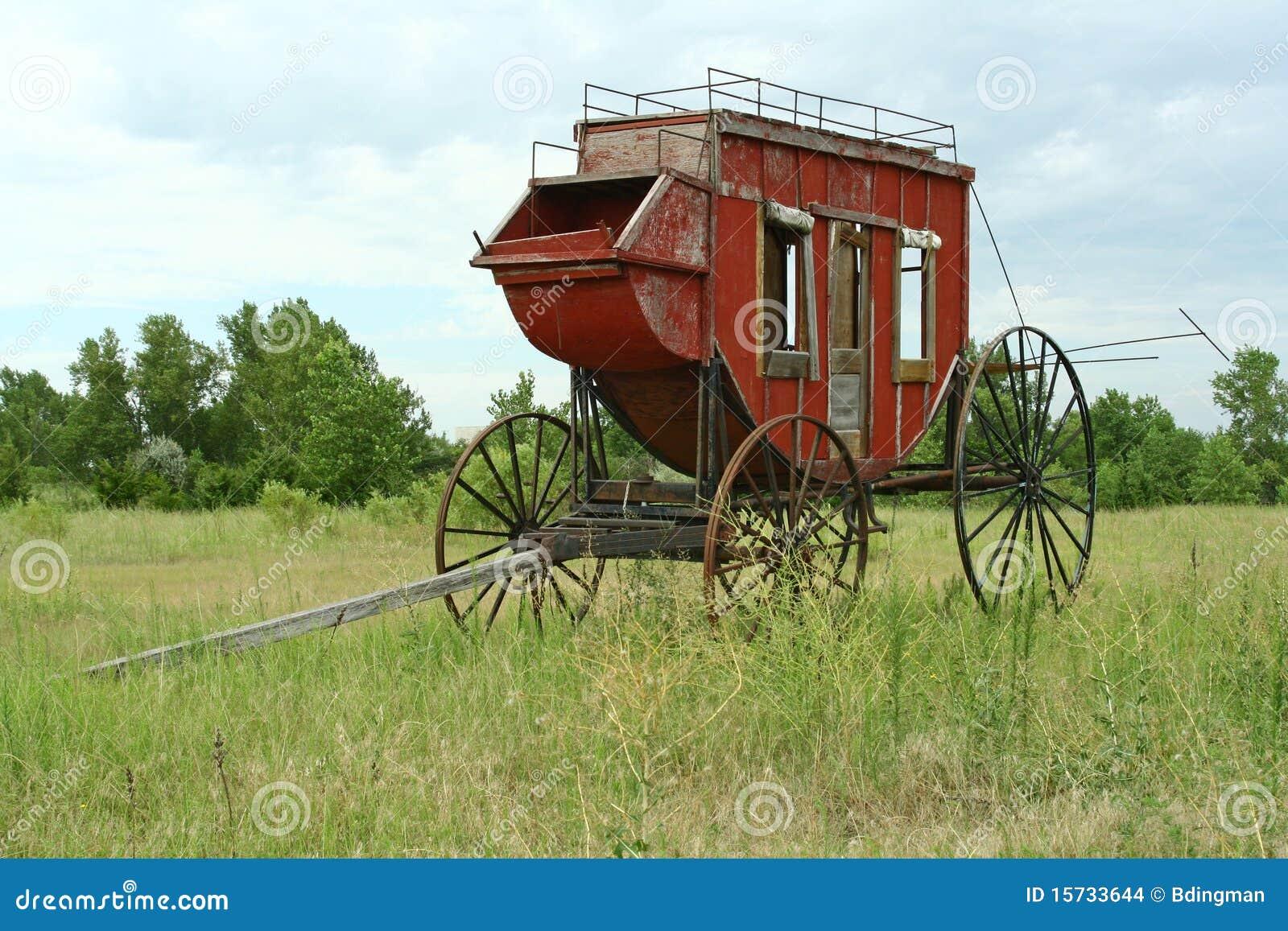 西部的驿马车