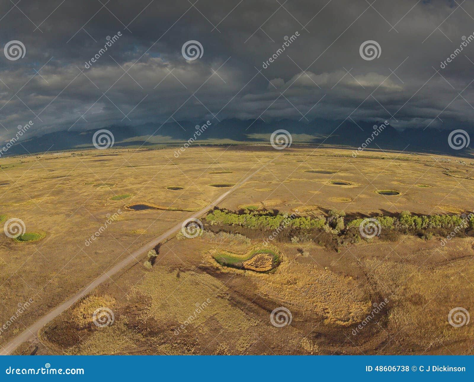 西部蒙大拿鸟避难所天线
