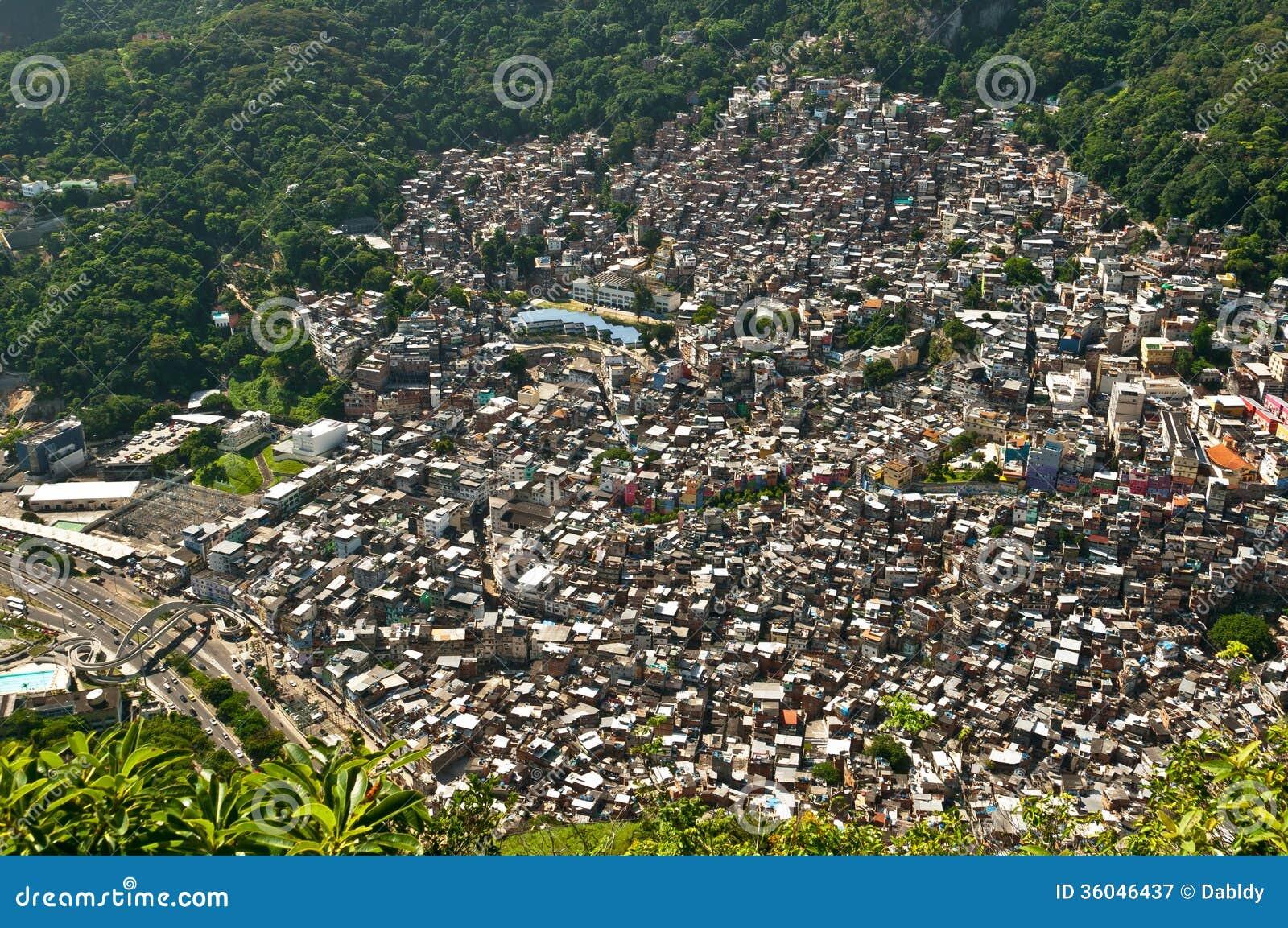 巴西贫民窟Rocinha