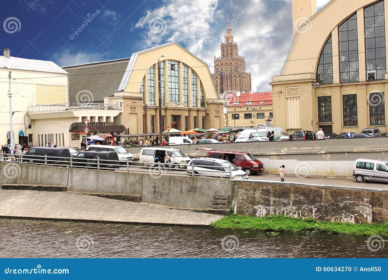 主要市场里加 拉脱维亚