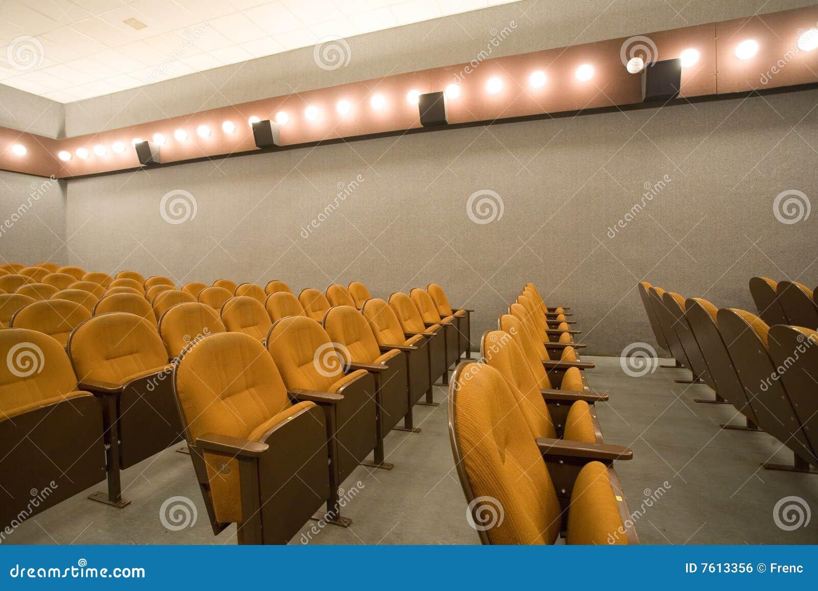 观众席戏院空小