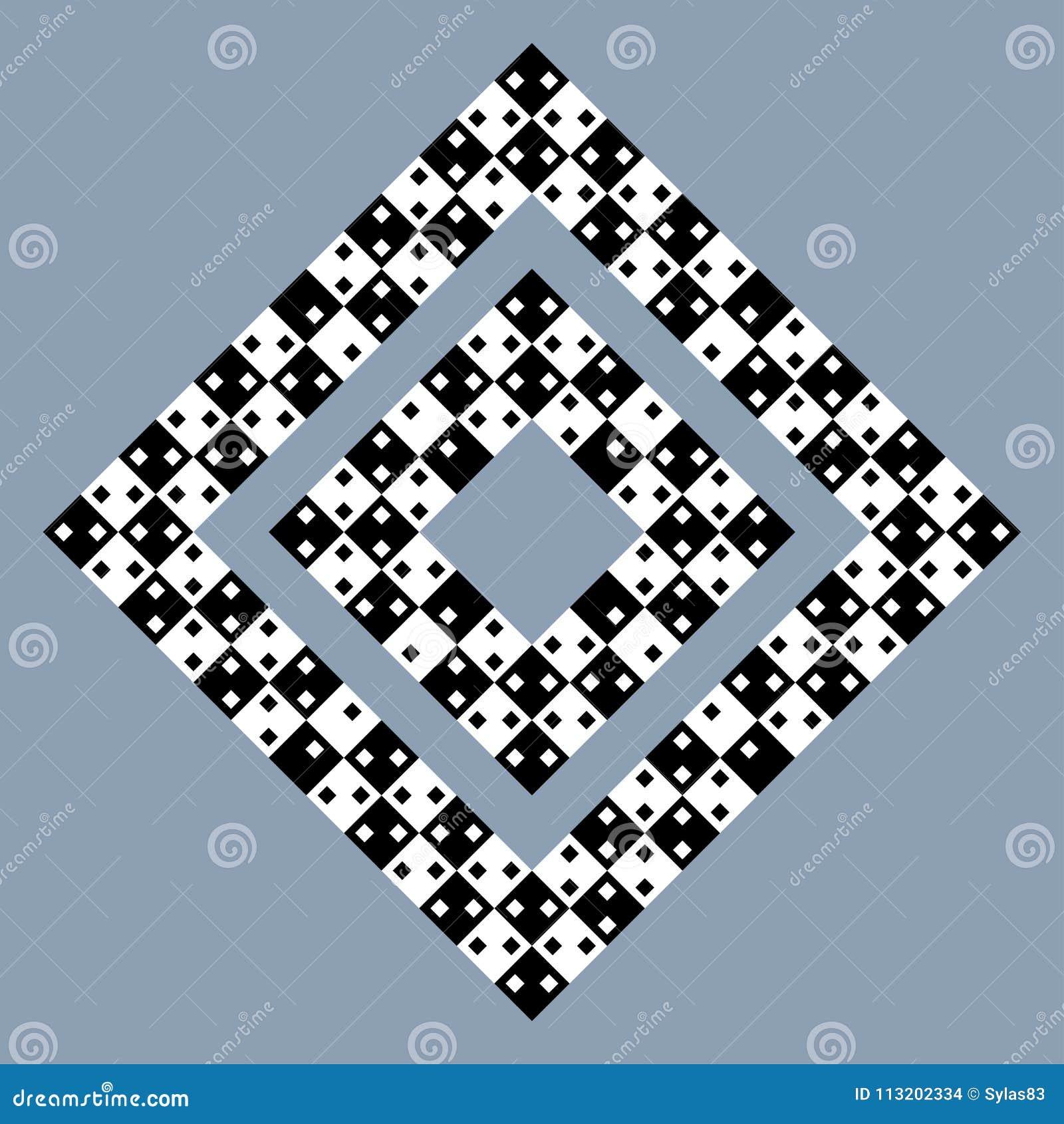视觉欺骗-现代错觉 滑稽和不可能的形状谜语