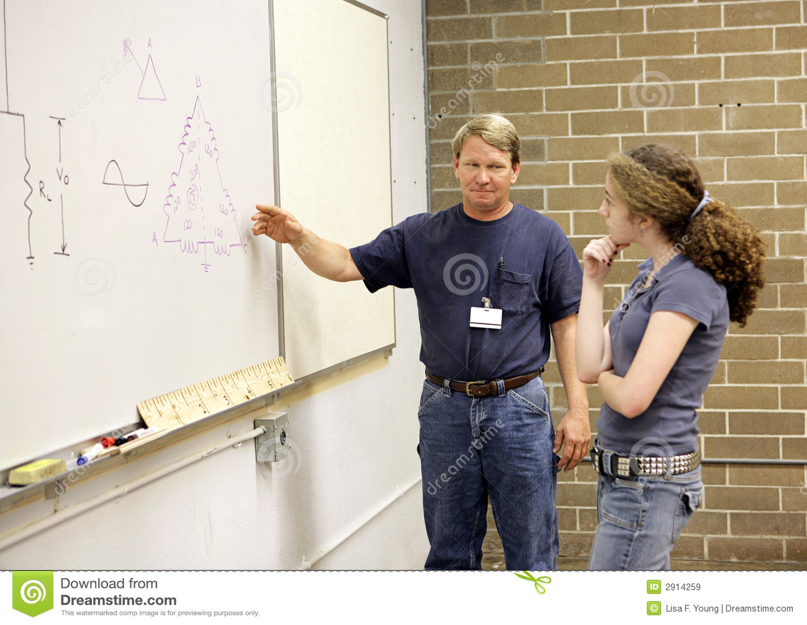 解释实习教师