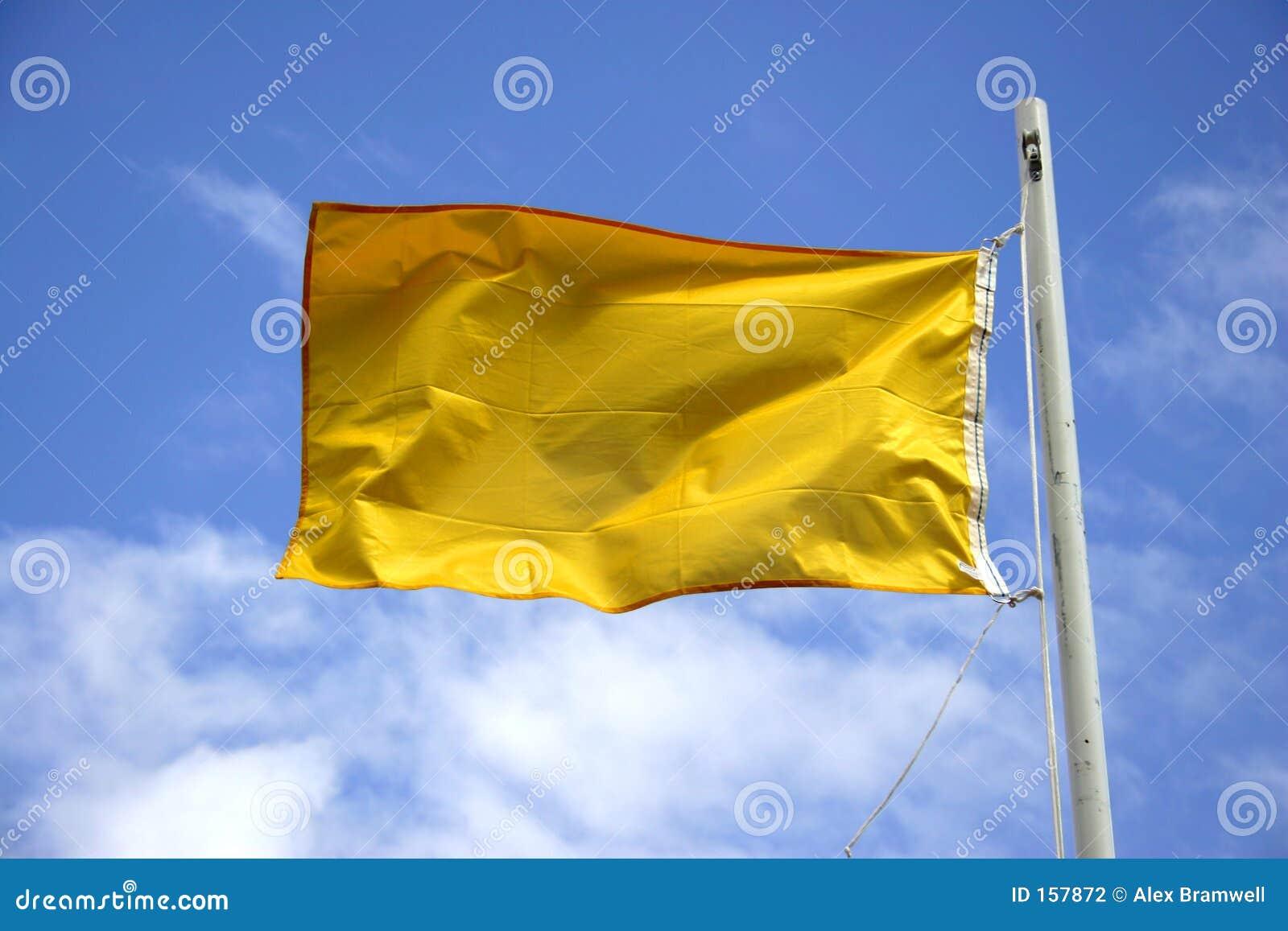 警告标志黄色