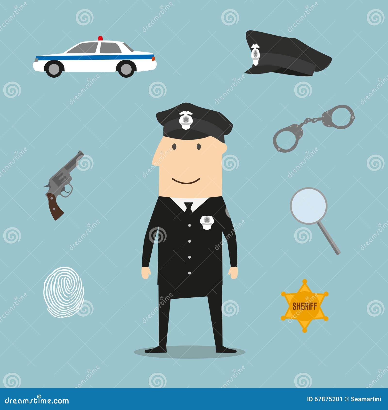 警察行业象和标志