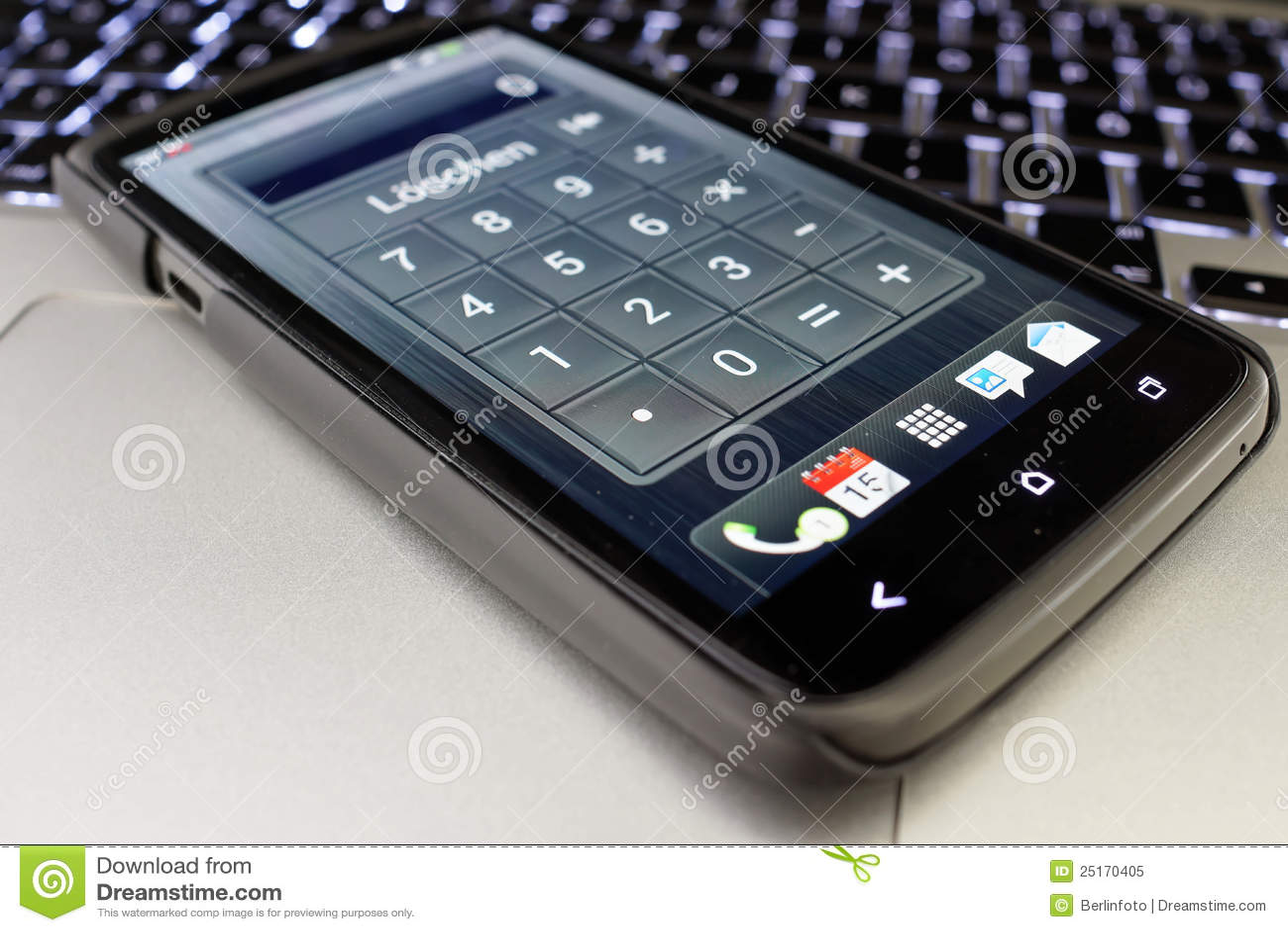 计算器smartphone