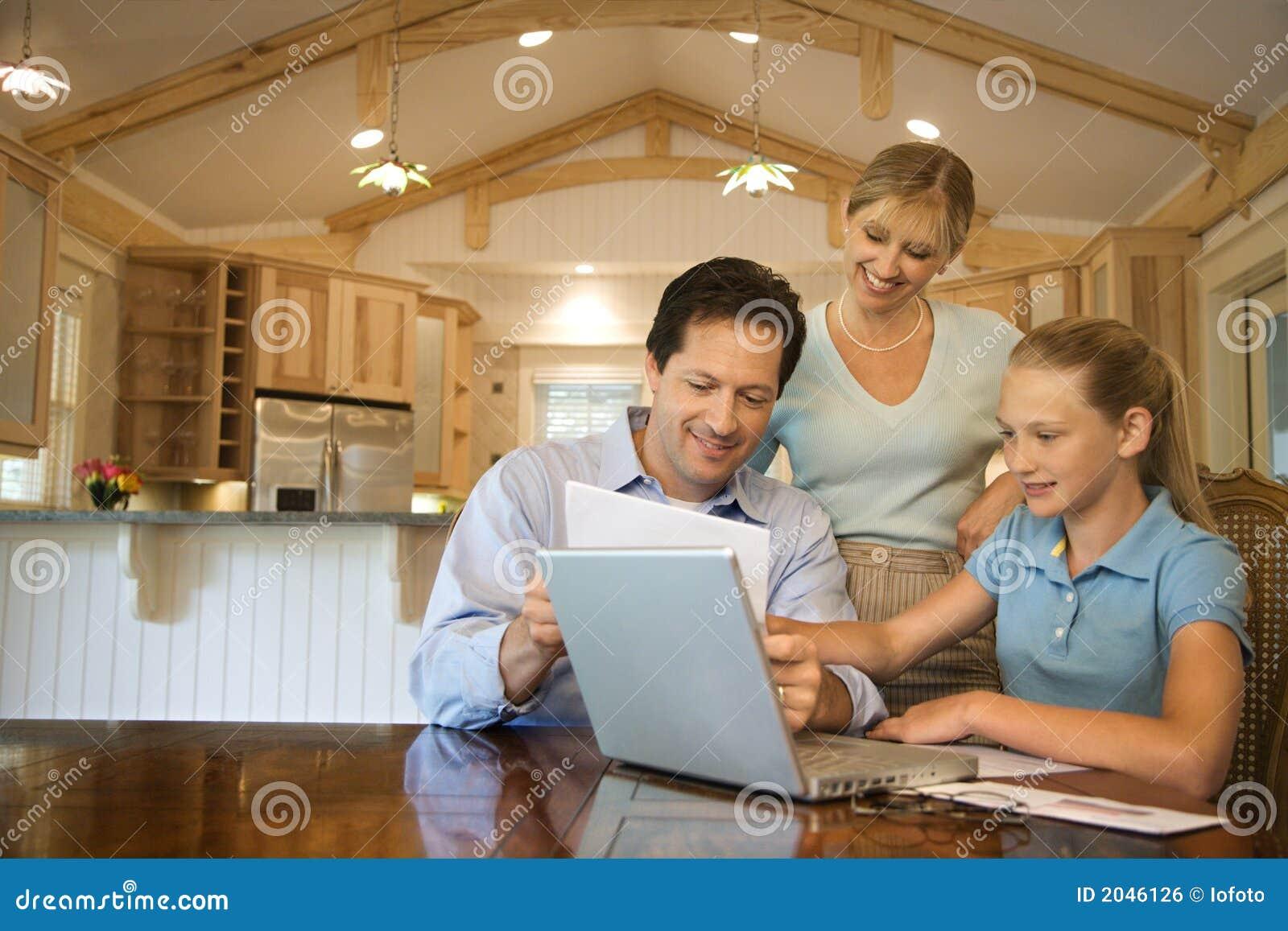计算机家族使用