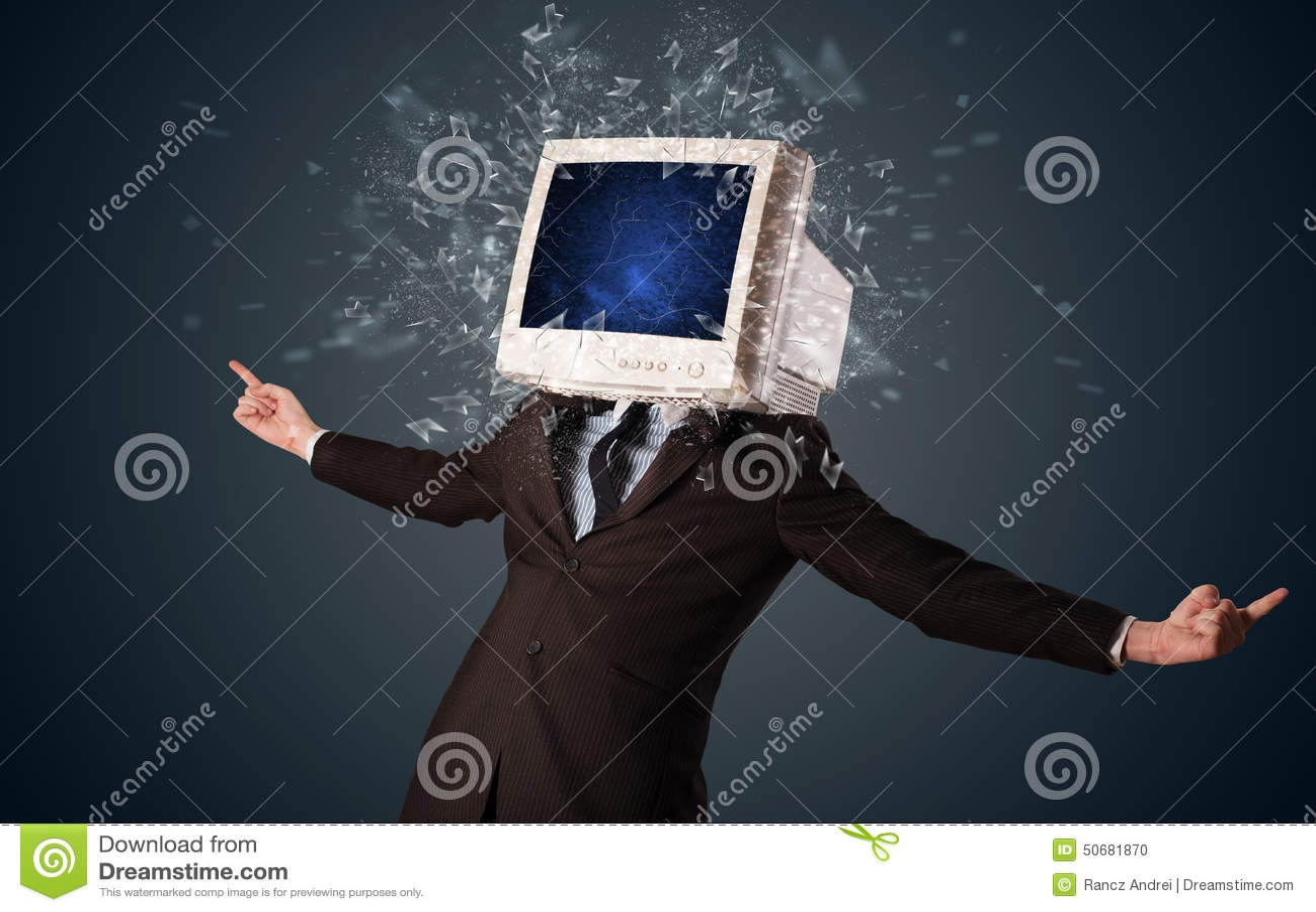 Download 计算机爆炸在的显示器屏幕年轻人朝向 库存照片. 图片 包括有 科学, 图标, 商业, 圈子, 玻璃, 要素 - 50681870