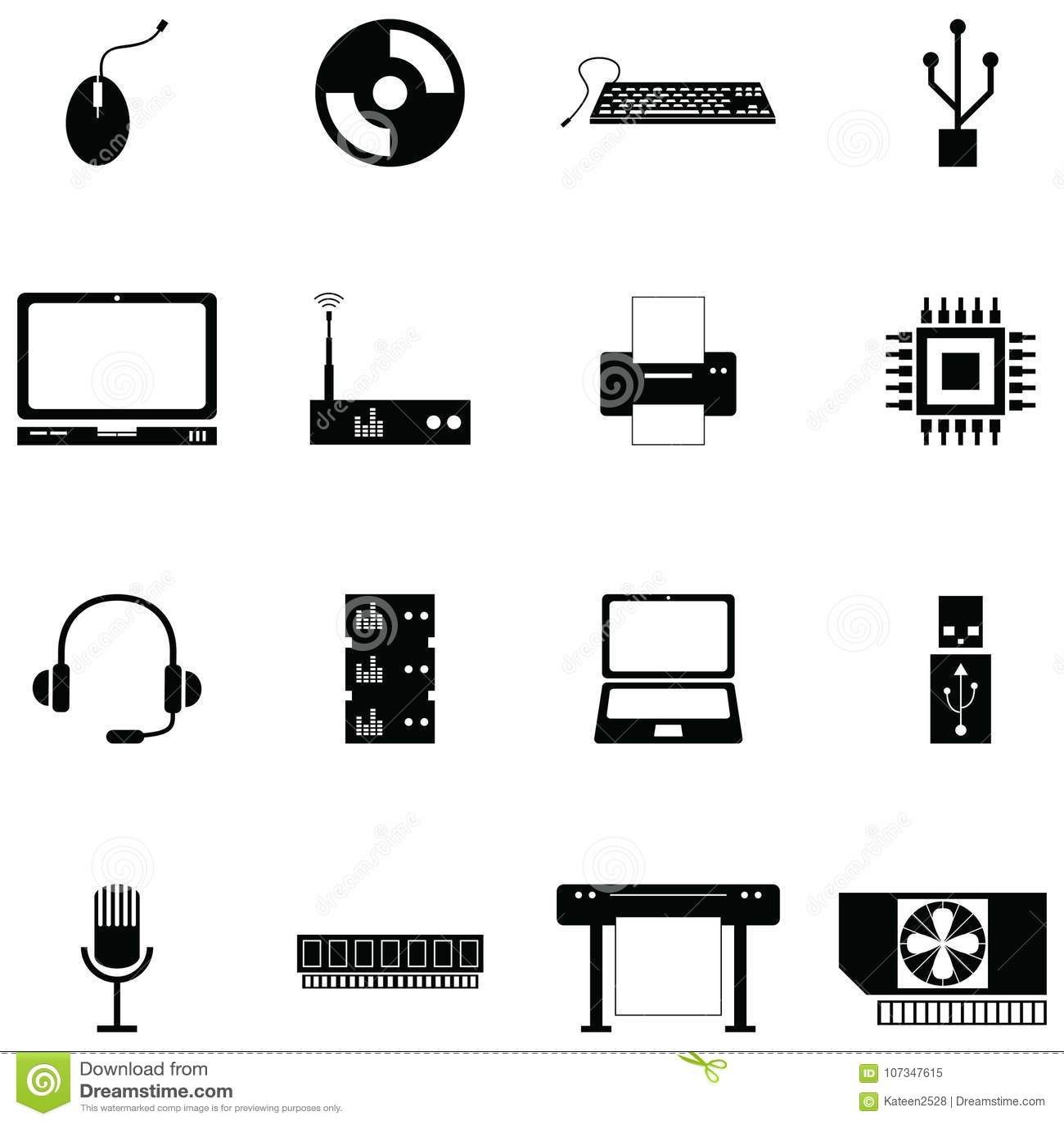 计算机硬件象集合