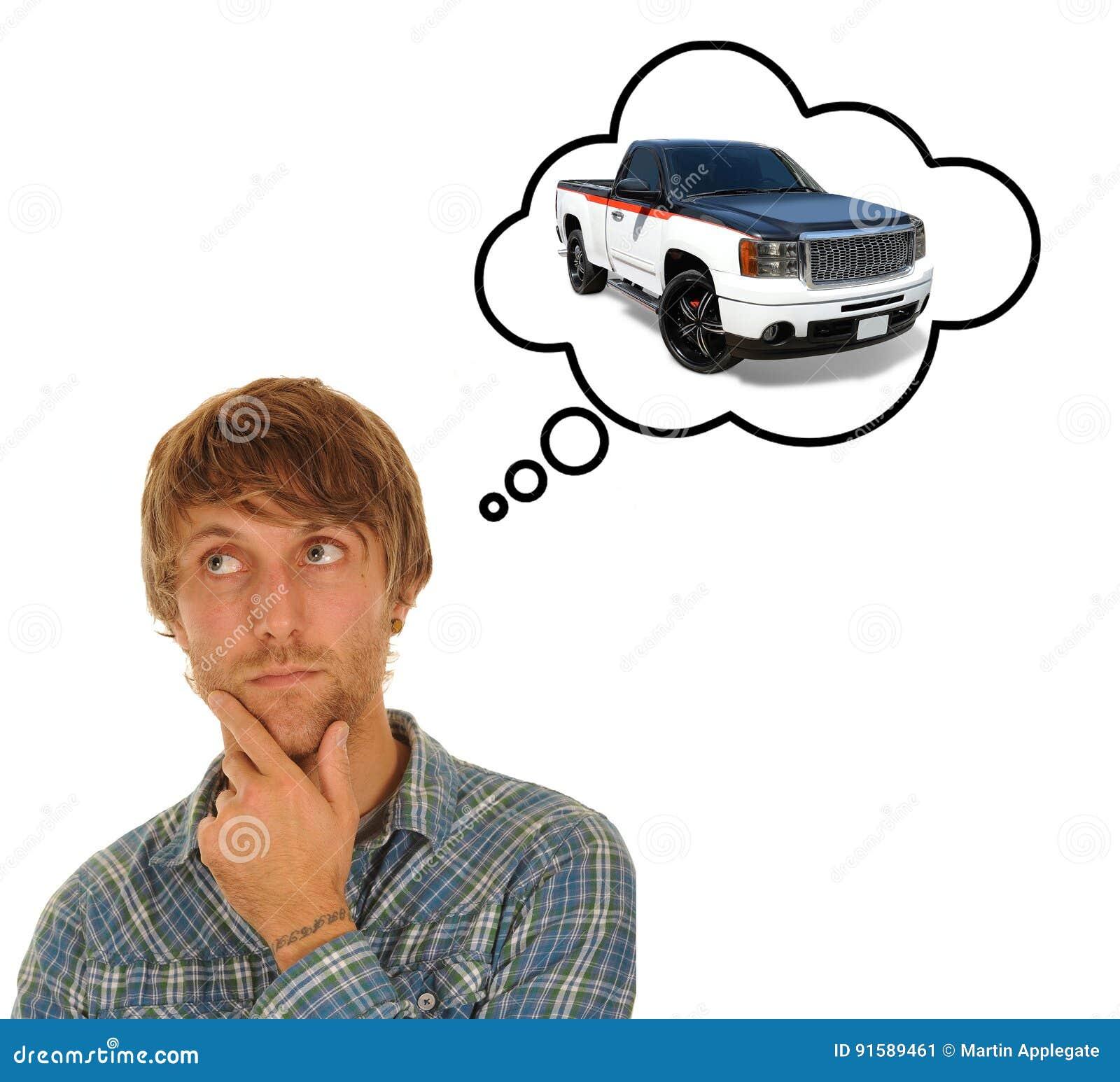 认为汽车的年轻人