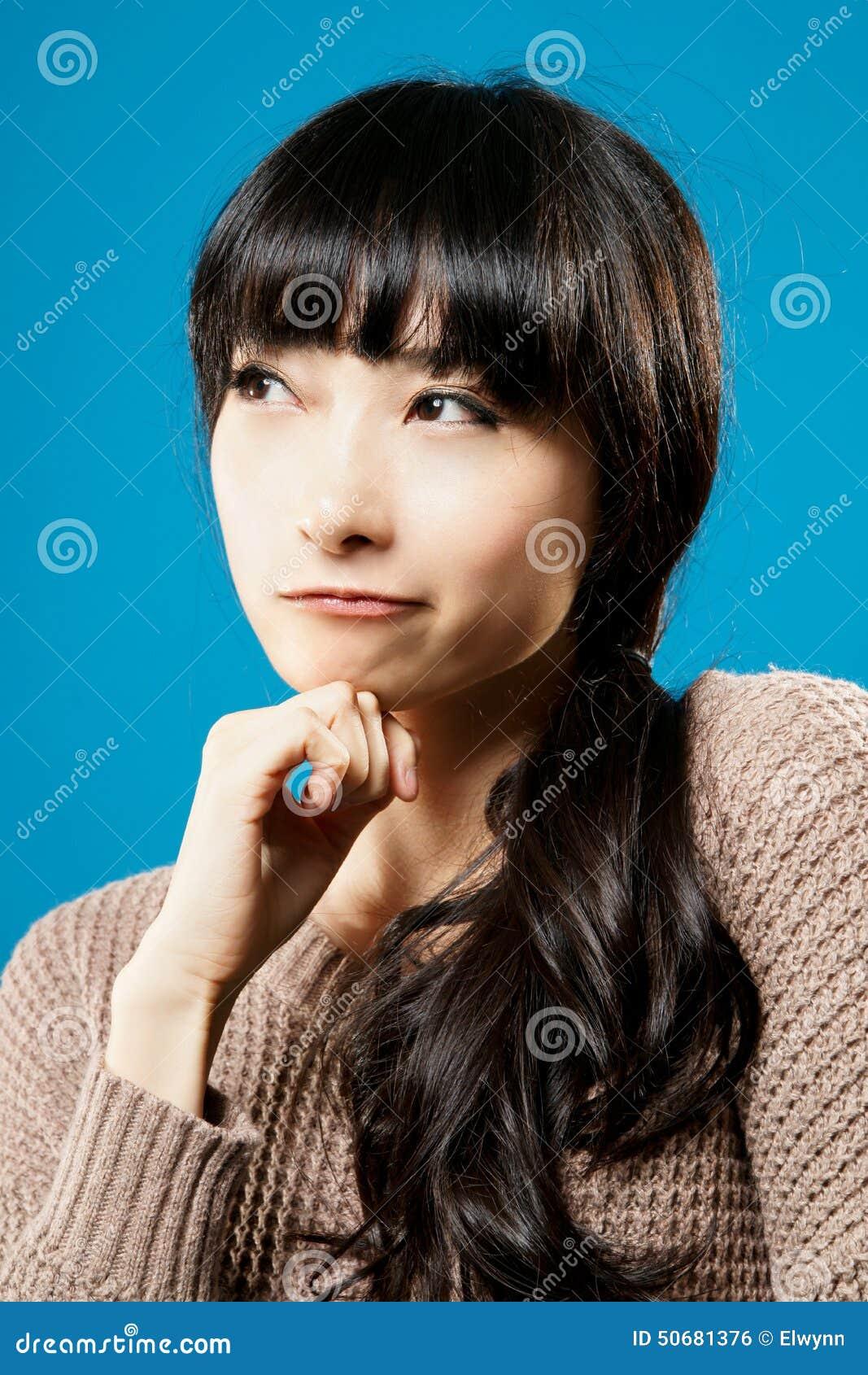 Download 认为 库存照片. 图片 包括有 日语, 摆在, 女性, 汉语, 愉快, 查找, 乐趣, 滑稽, 面部, 人们 - 50681376