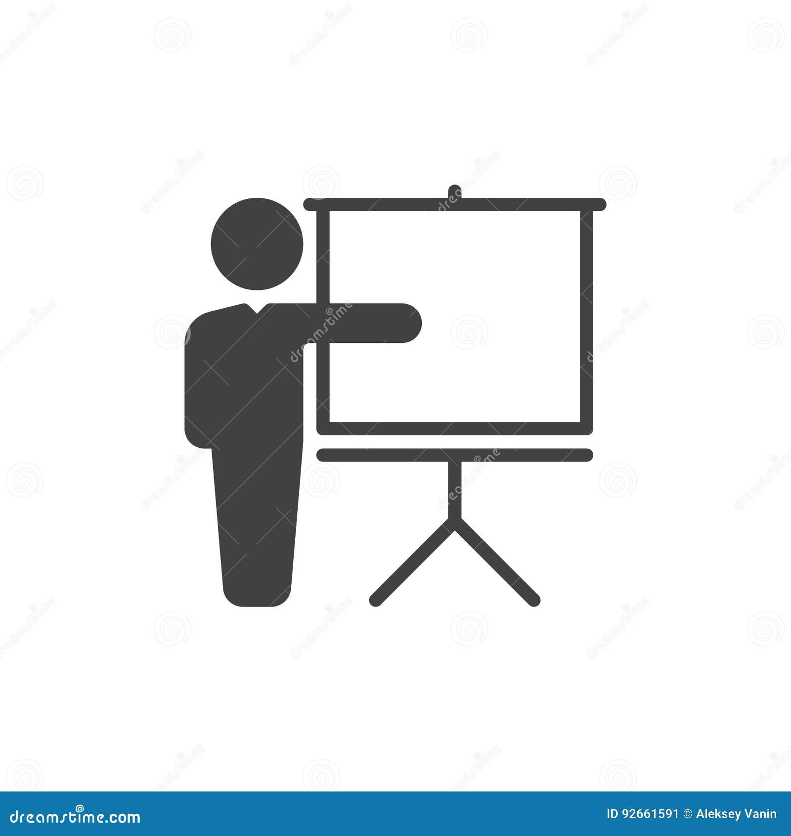 训练象传染媒介,被填装的平的标志,在白色隔绝的坚实图表 标志,商标例证