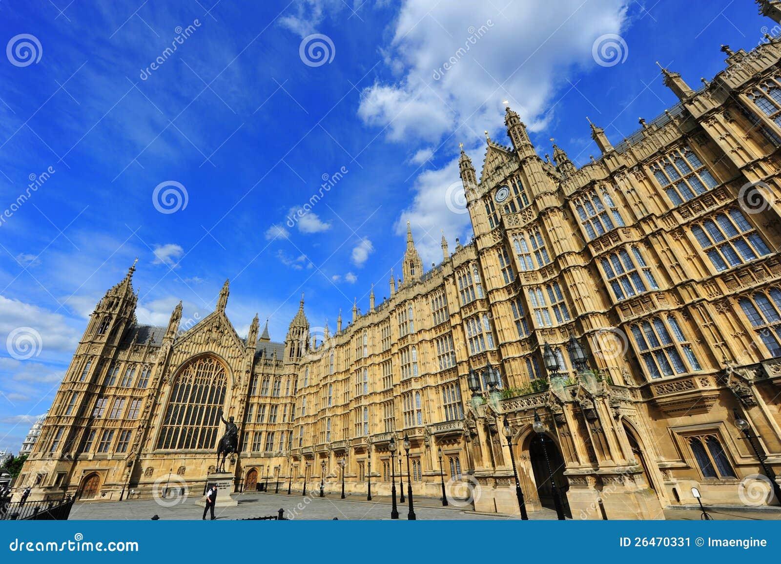 议会,在英国首都的结构上地标庄严之家.图片