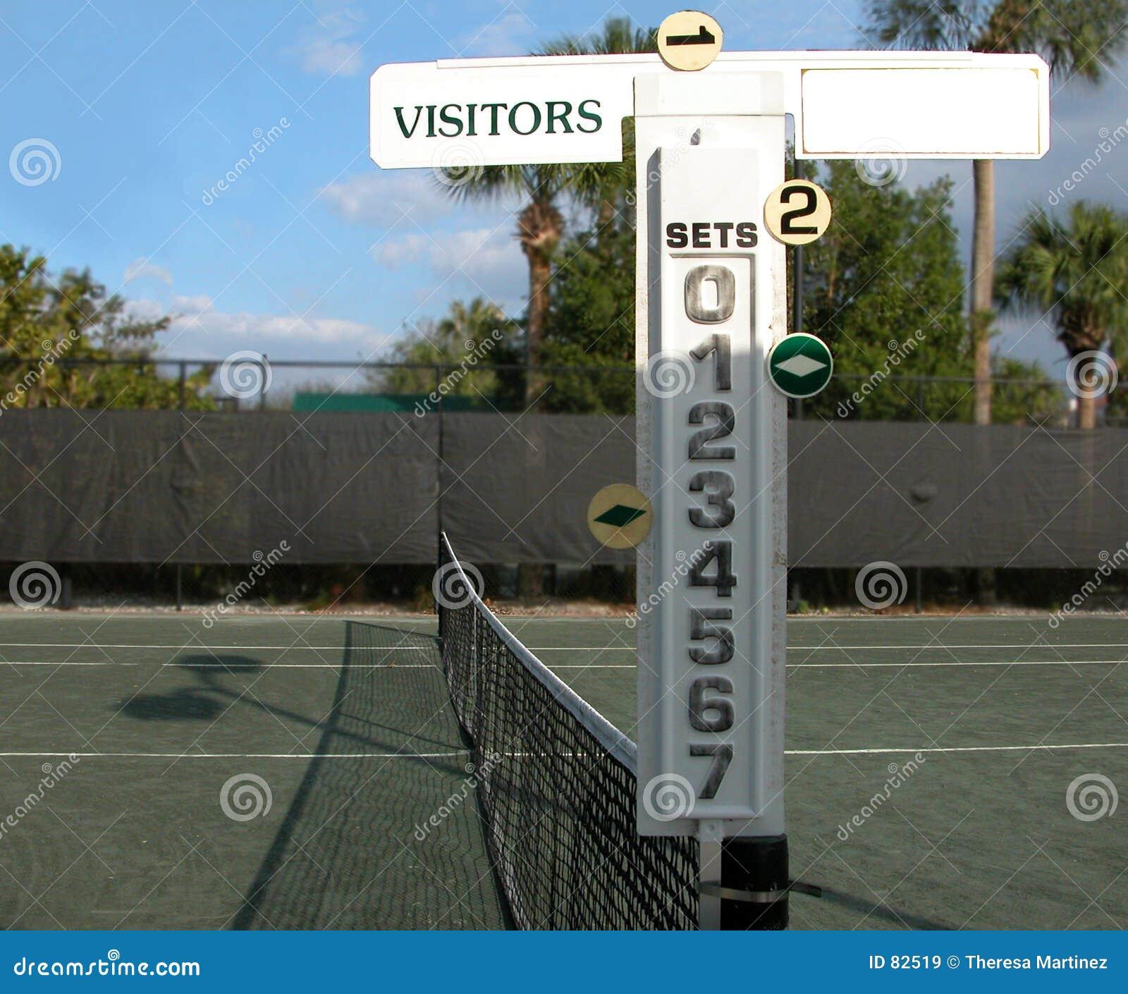 记分员网球