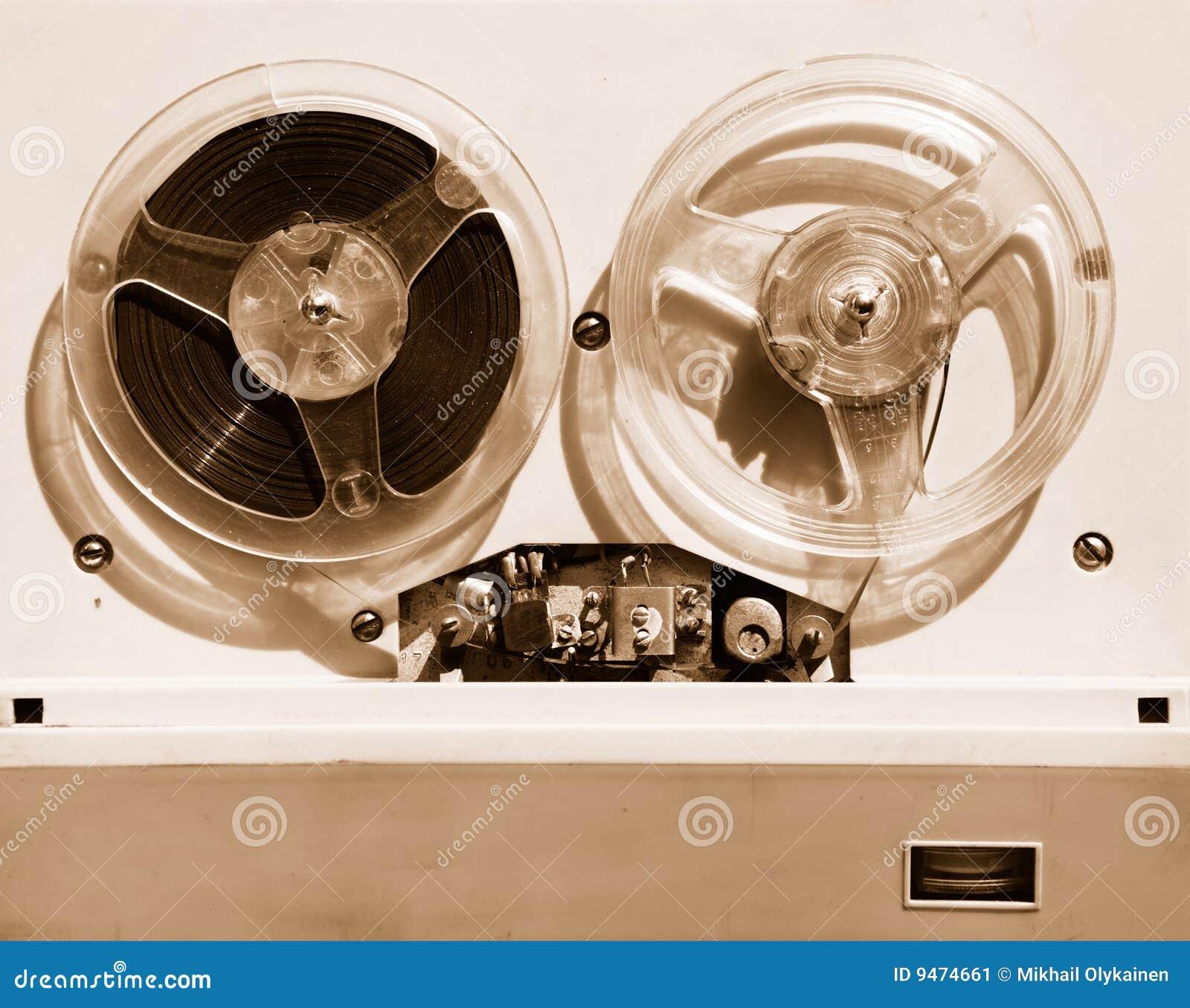 记录员磁带