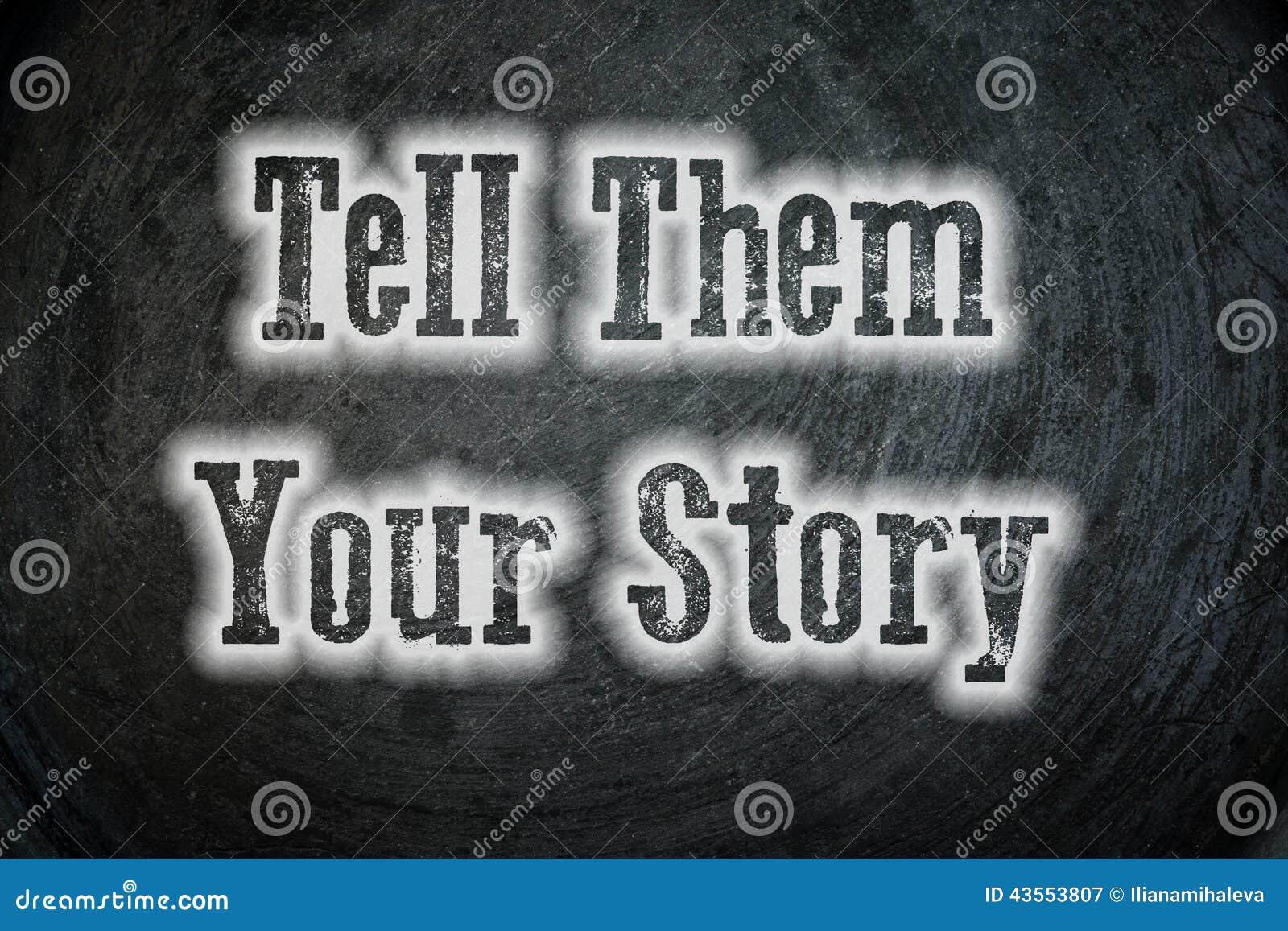 讲他们您的故事