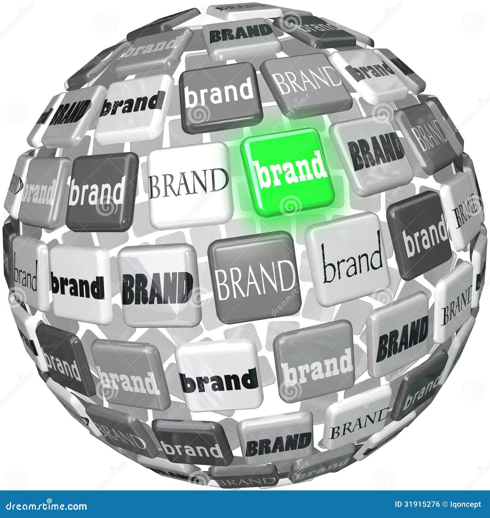 许多品牌一个Unqiue最佳的品牌球形上面选择