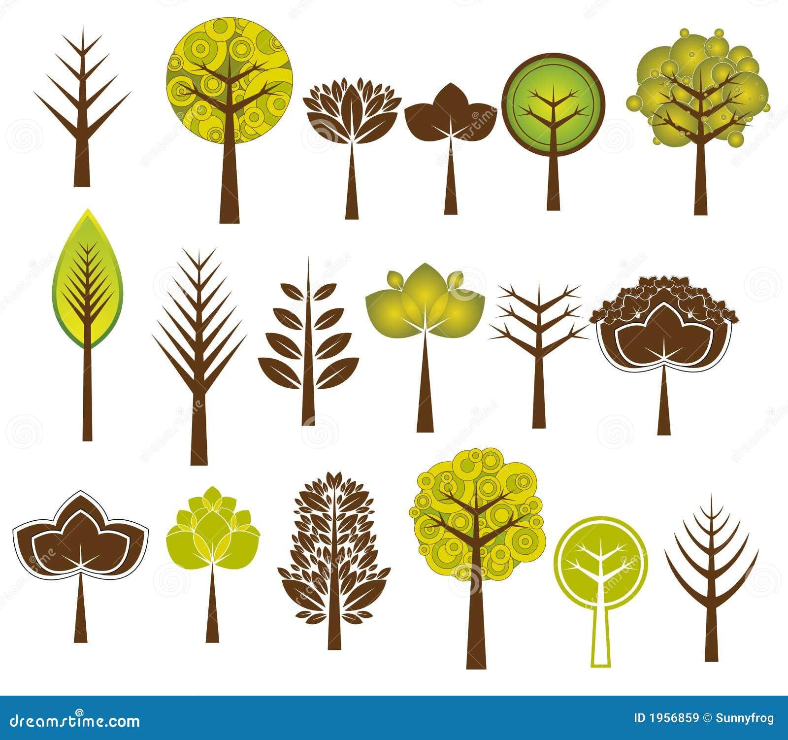 许多结构树向量