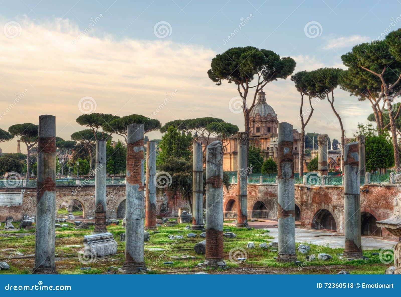 论坛Romanum在罗马,意大利