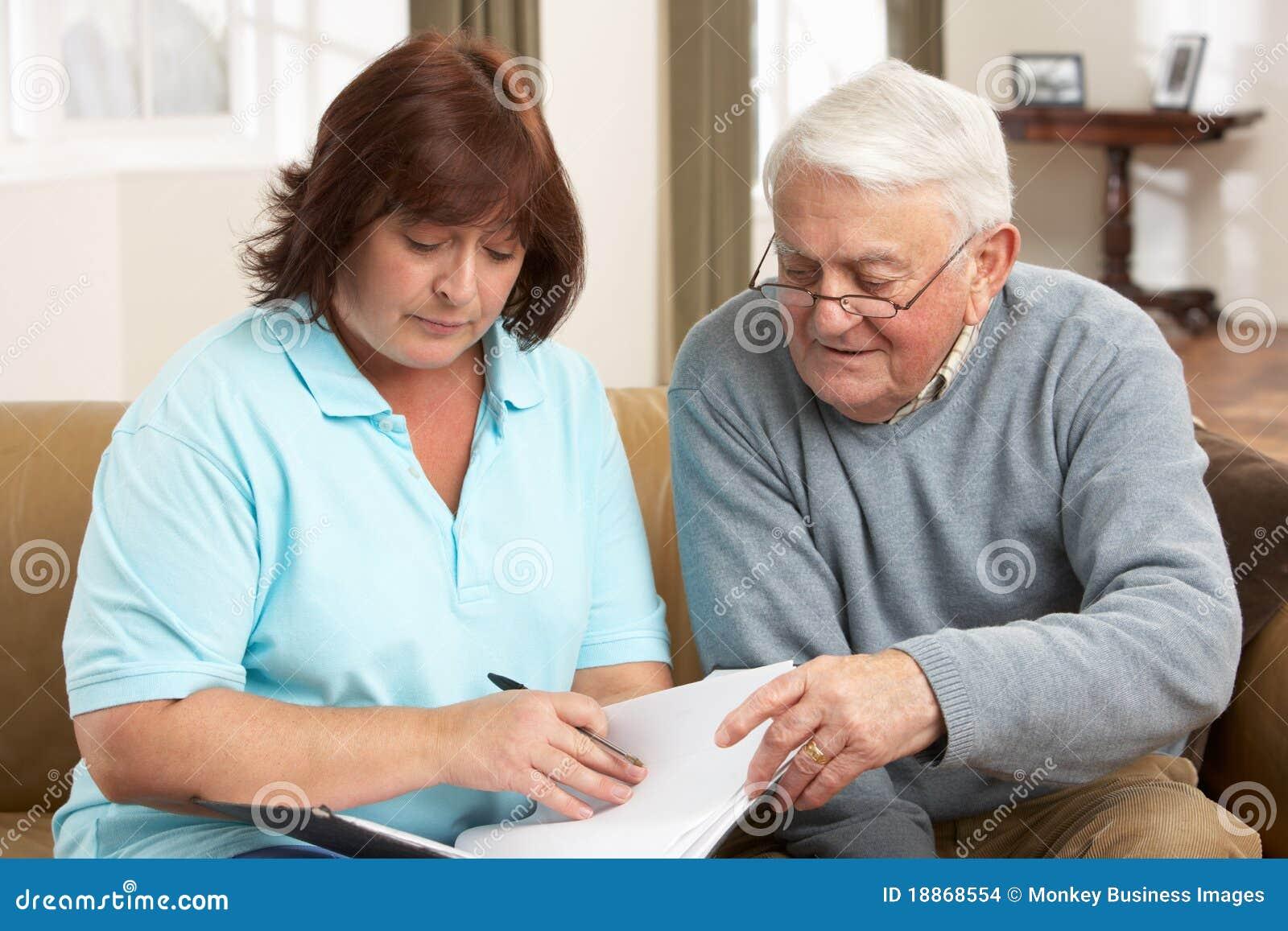 论述健康人前辈访客