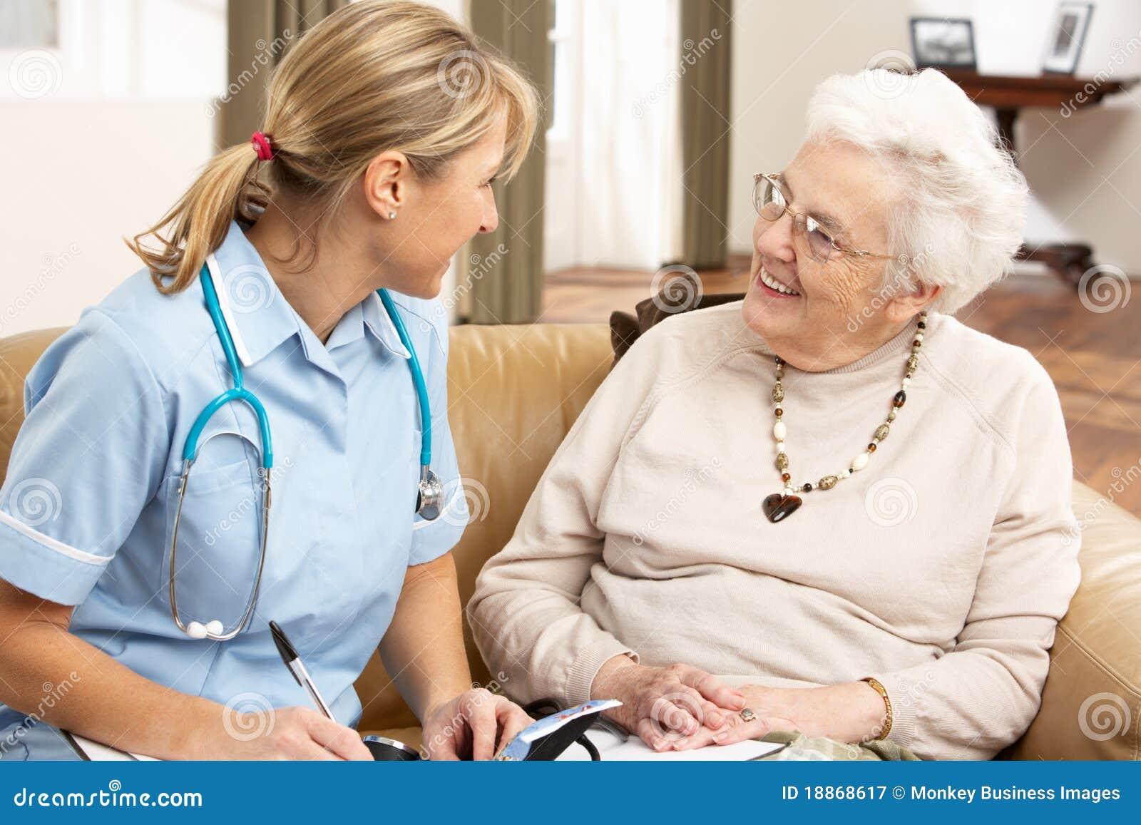 论述健康高级访客妇女