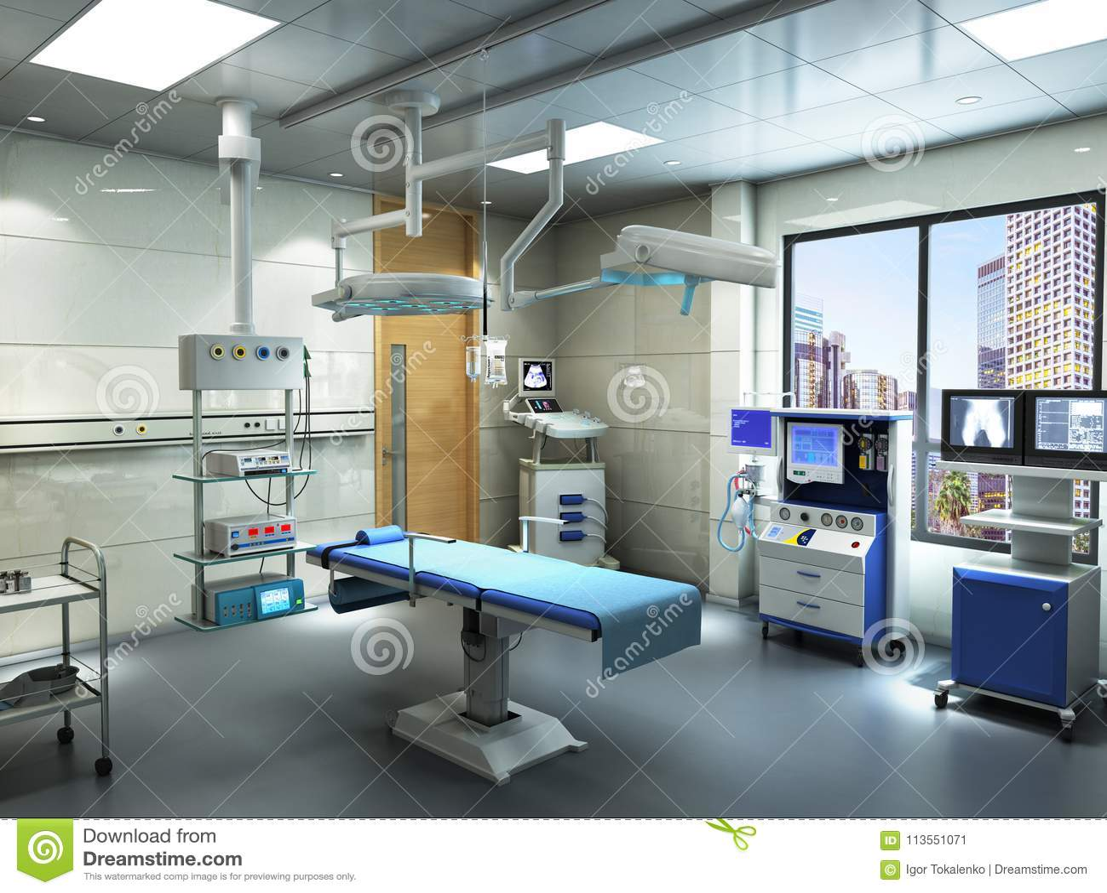 设备和医疗设备在现代手术室3d回报