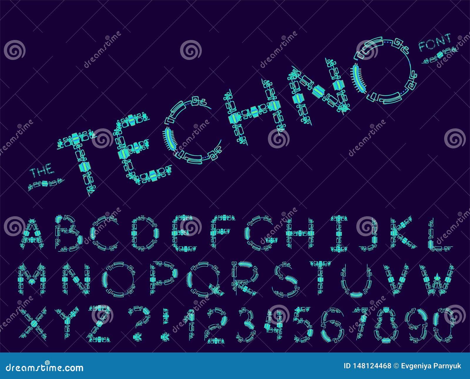 设置传染媒介摘要字体和字母表