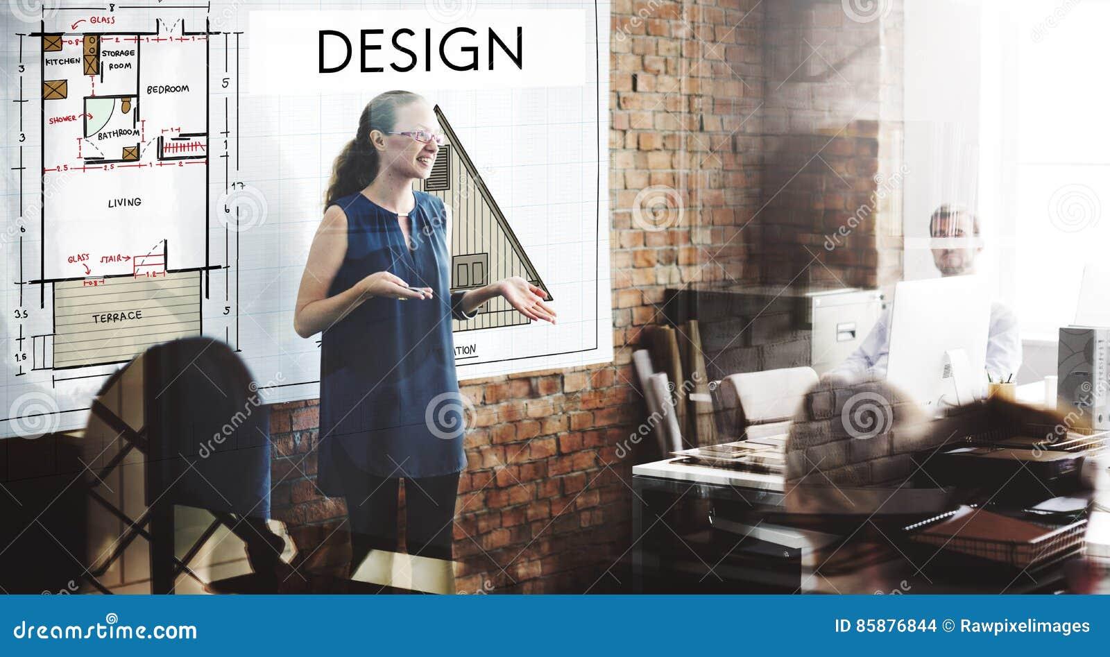 设计图表创造性的计划目的草稿概念