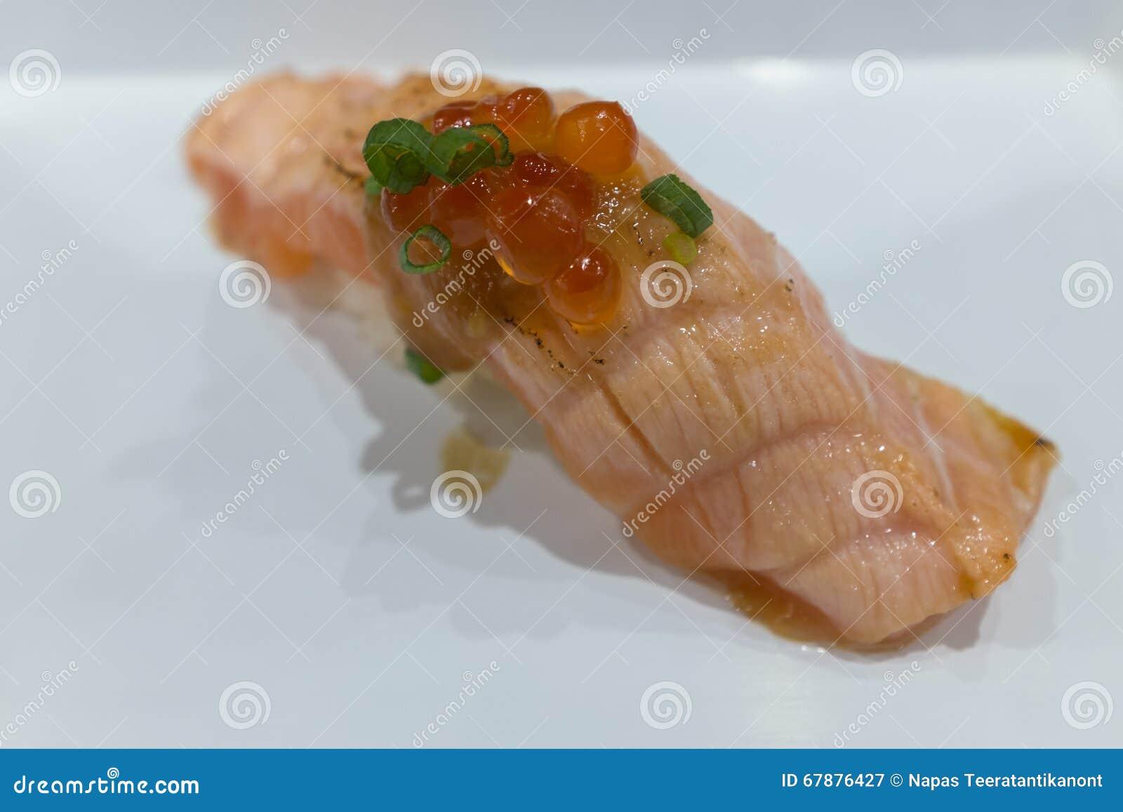 设计有用要素菜单餐馆三文鱼的寿司非常