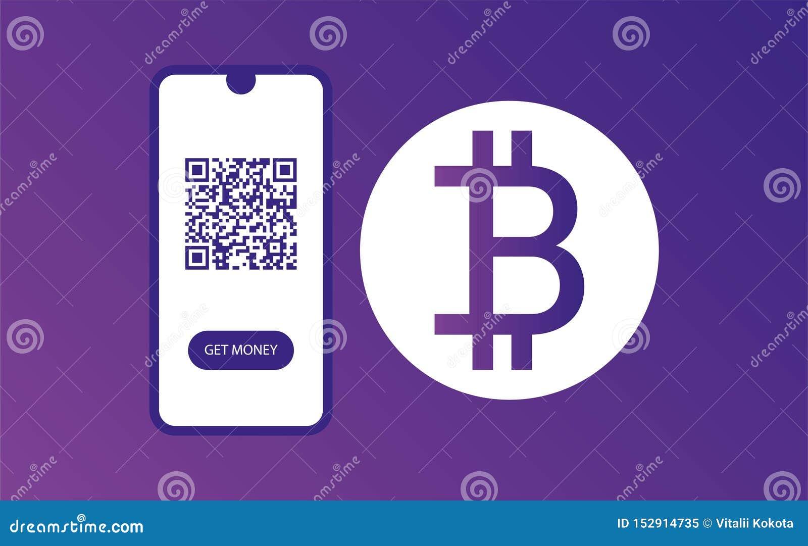设计网页模板 现在扫描和得到金钱 bitkoin设计 网横幅设计 颜色模板 ??