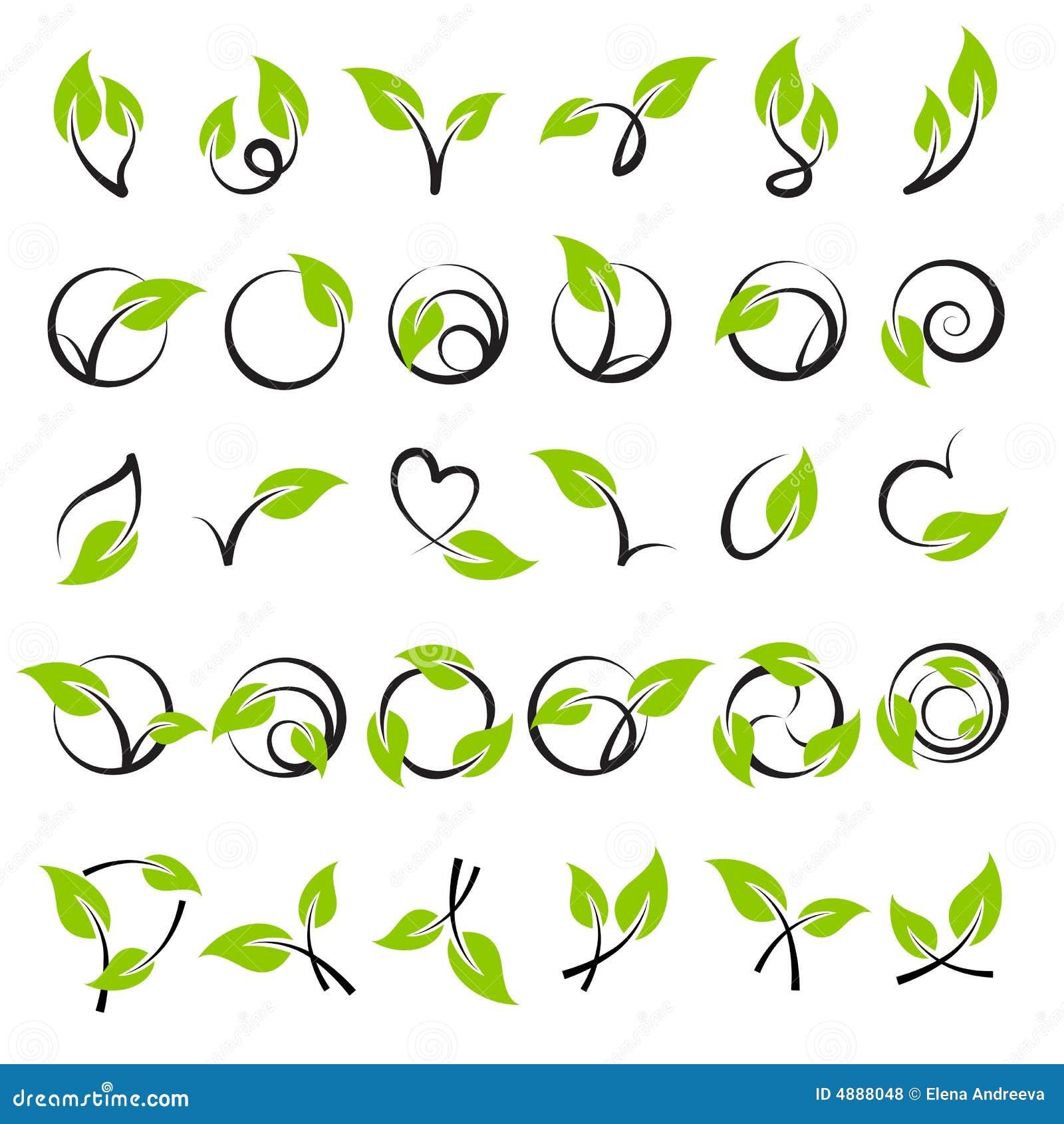 设计要素叶子