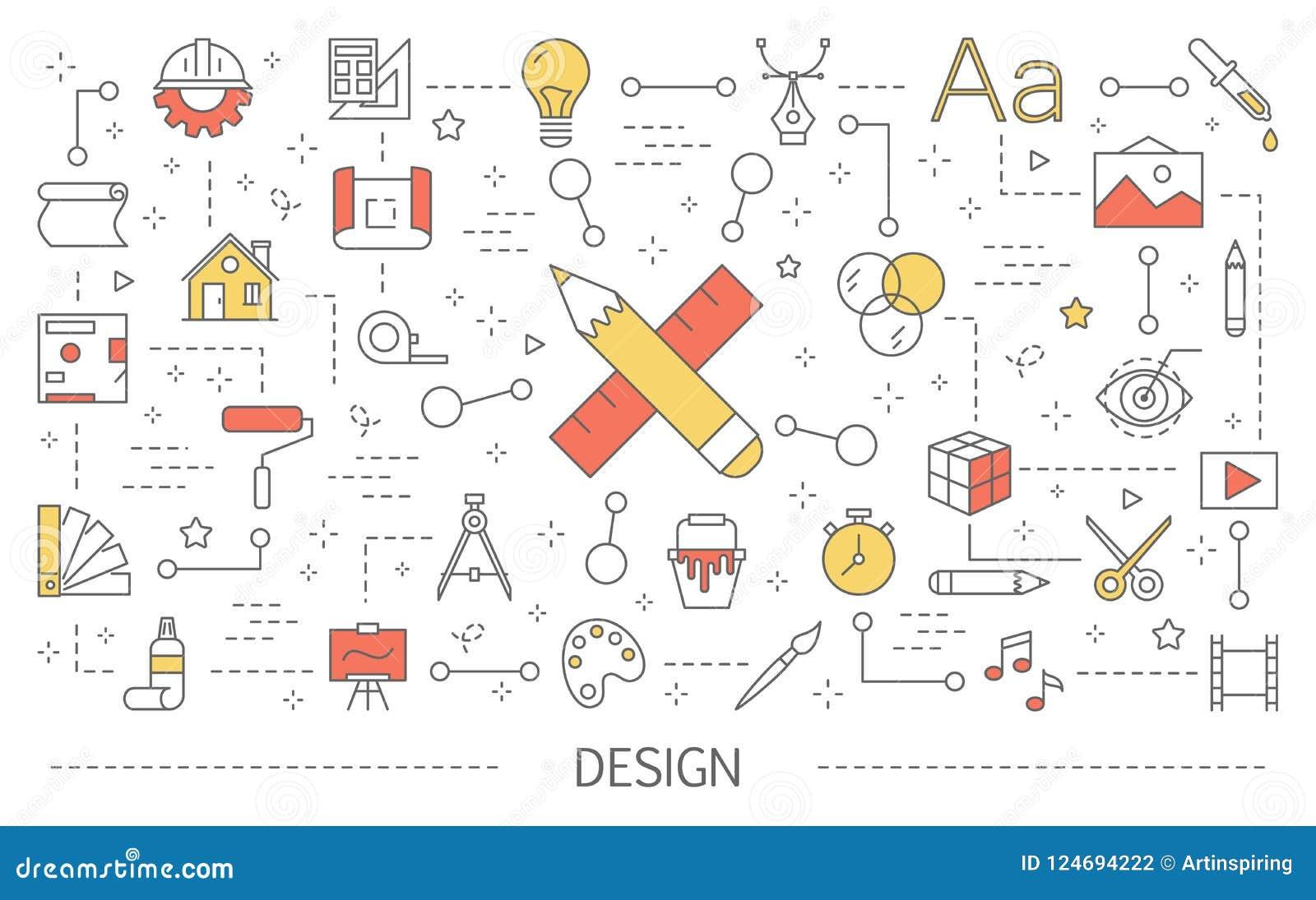 设计观念例证 创造性思为和计算机科技