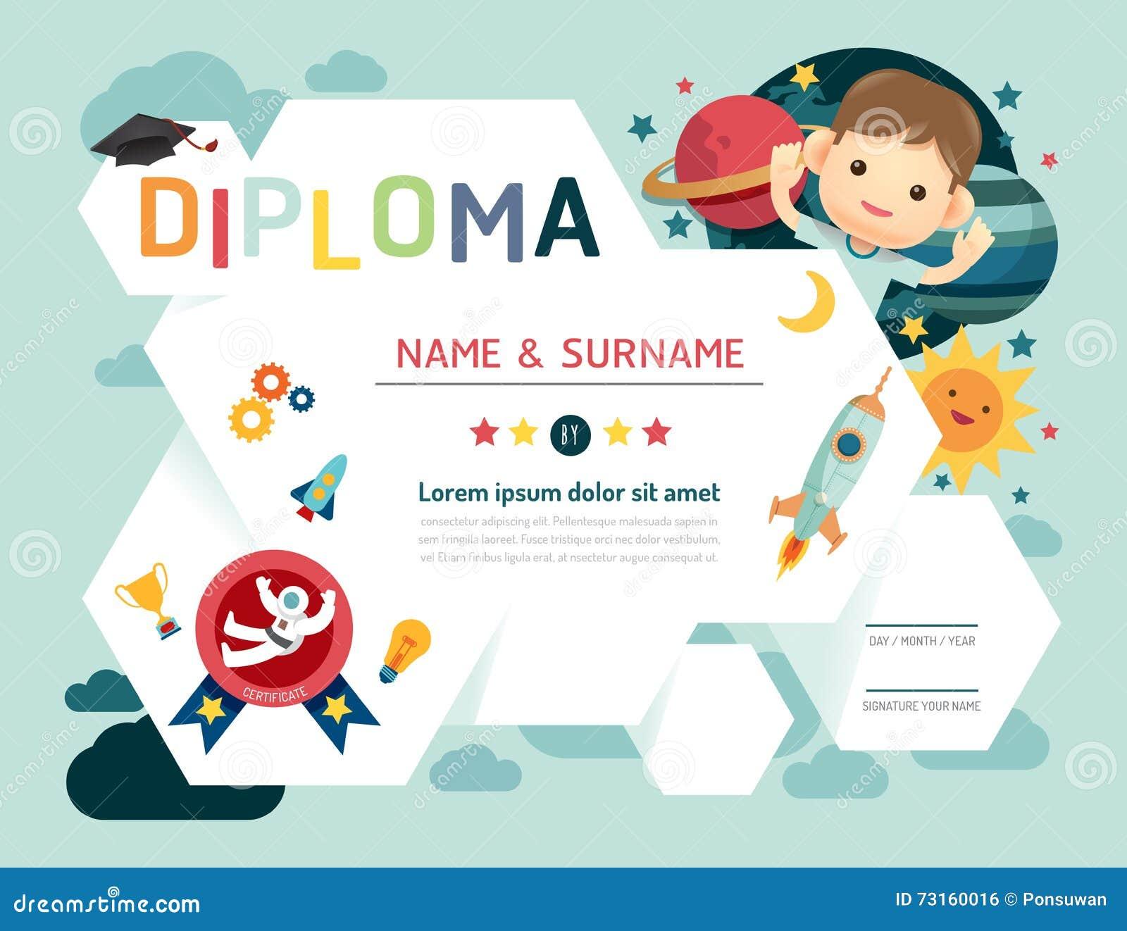 证明哄骗文凭,幼儿园模板