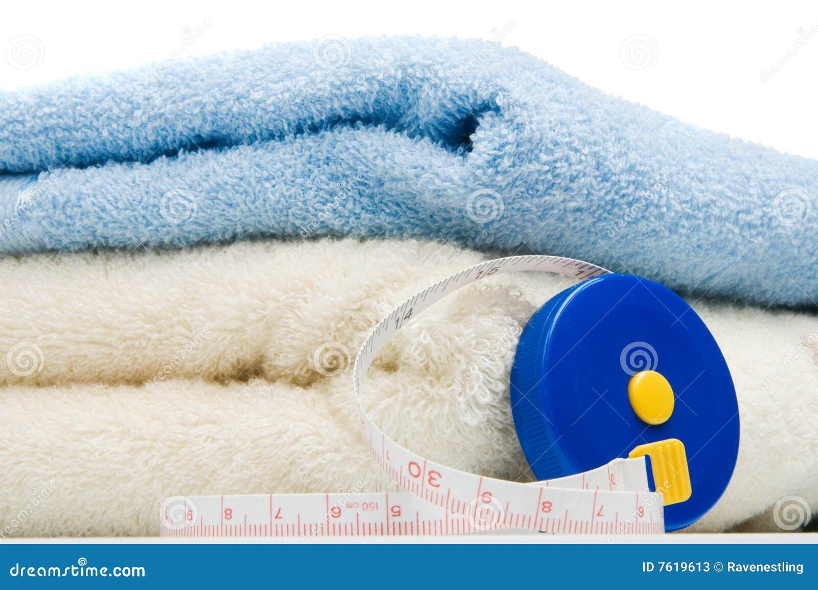 评定堆磁带毛巾