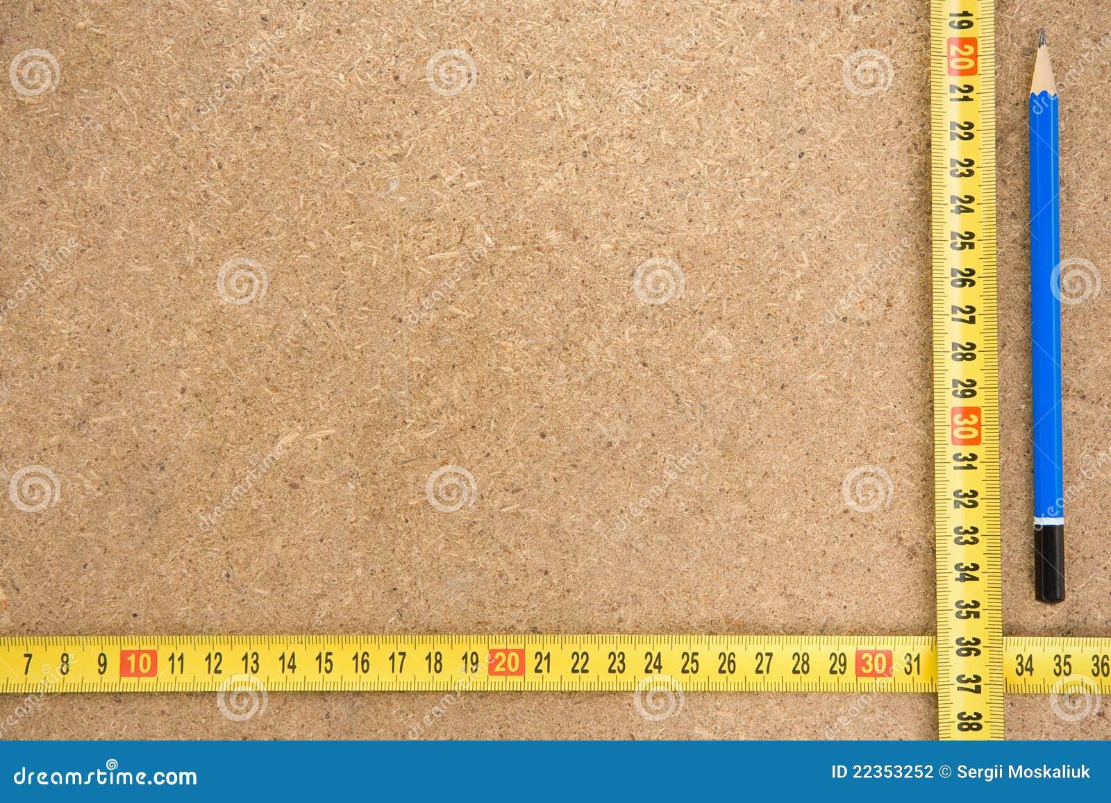 评定铅笔磁带木头